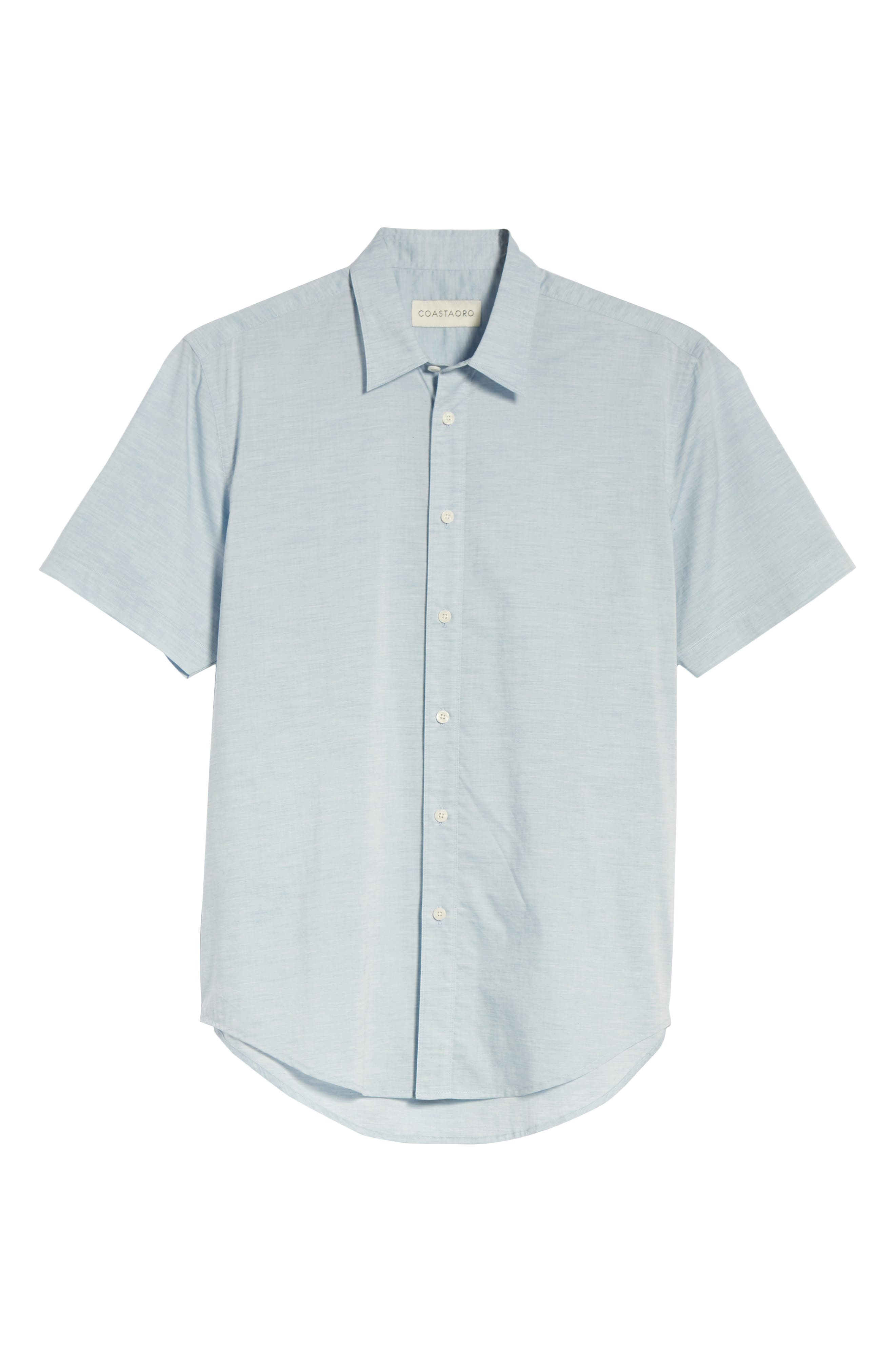 Solana Regular Fit Short Sleeve Sport Shirt,                             Alternate thumbnail 6, color,                             422