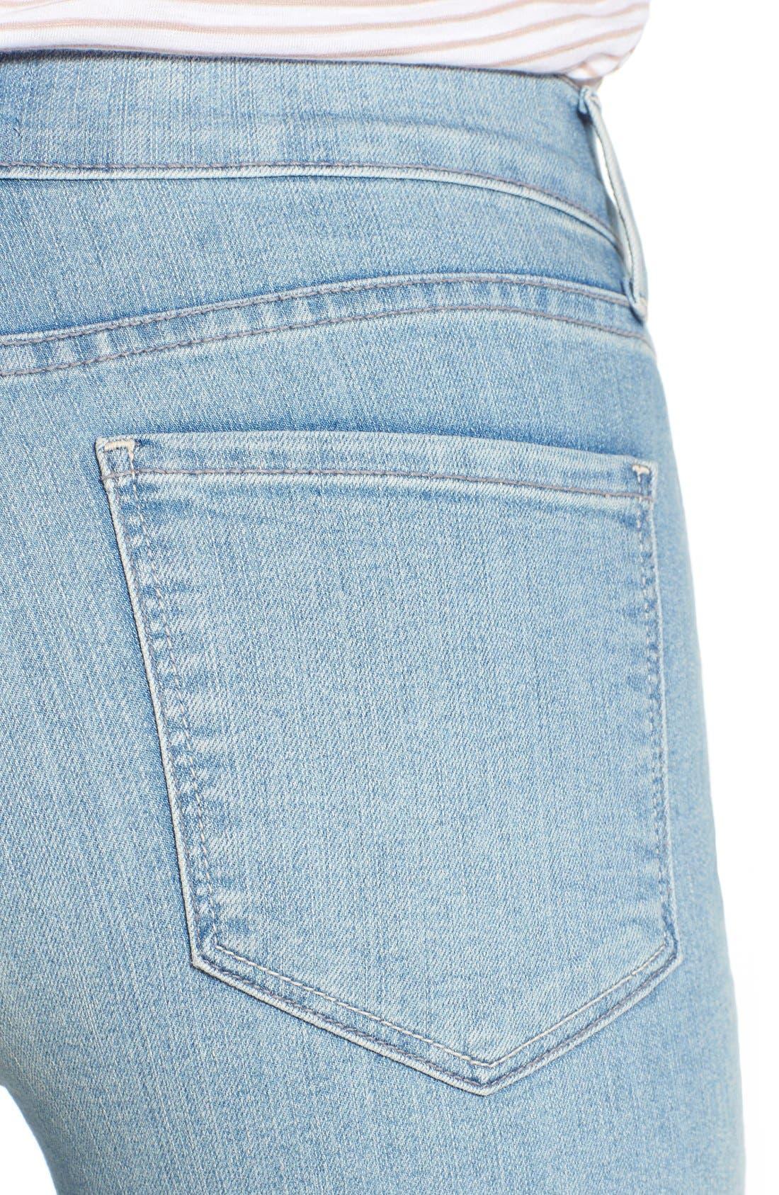 'Dayla' Colored Wide Cuff Capri Jeans,                             Alternate thumbnail 54, color,