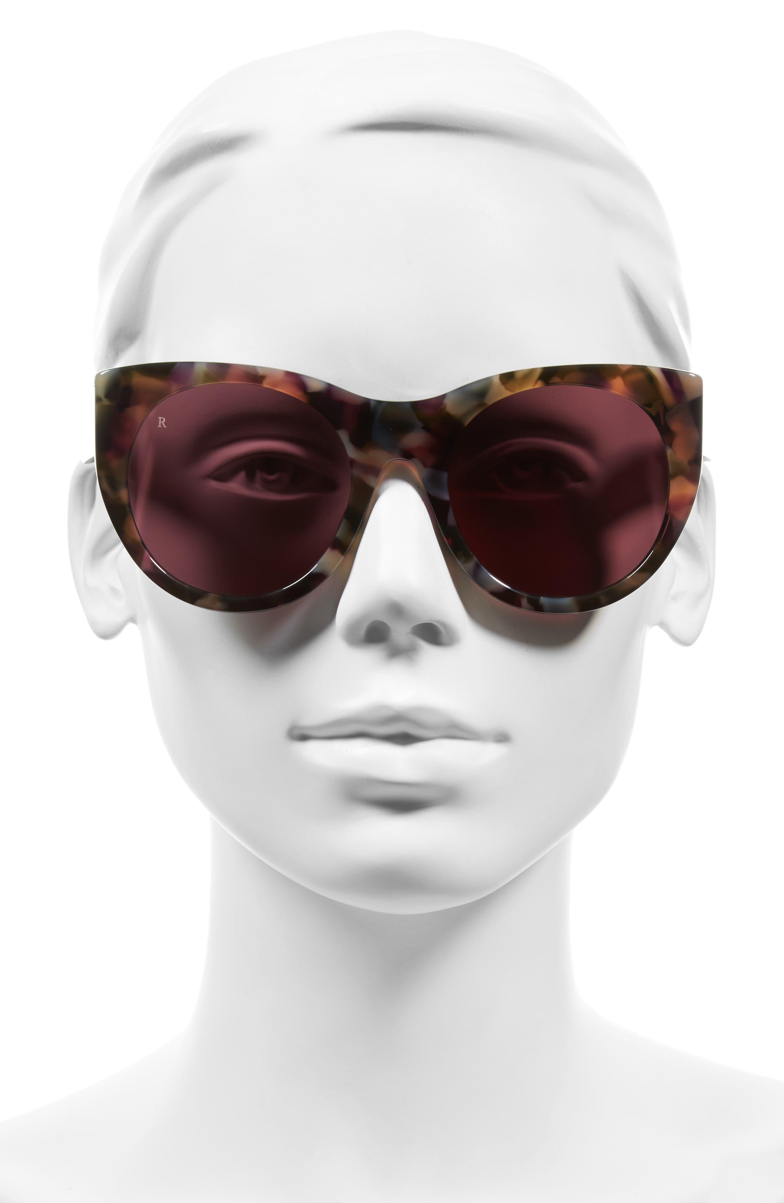 Durante 53mm Retro Sunglasses,                             Alternate thumbnail 4, color,