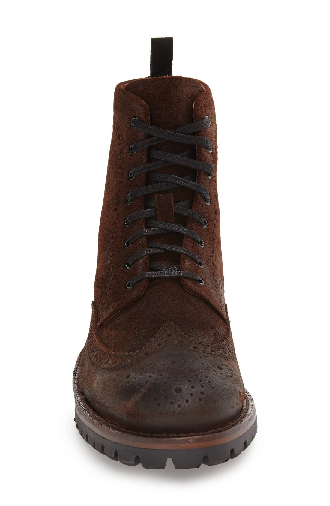 George Wingtip Boot,                             Alternate thumbnail 3, color,                             230