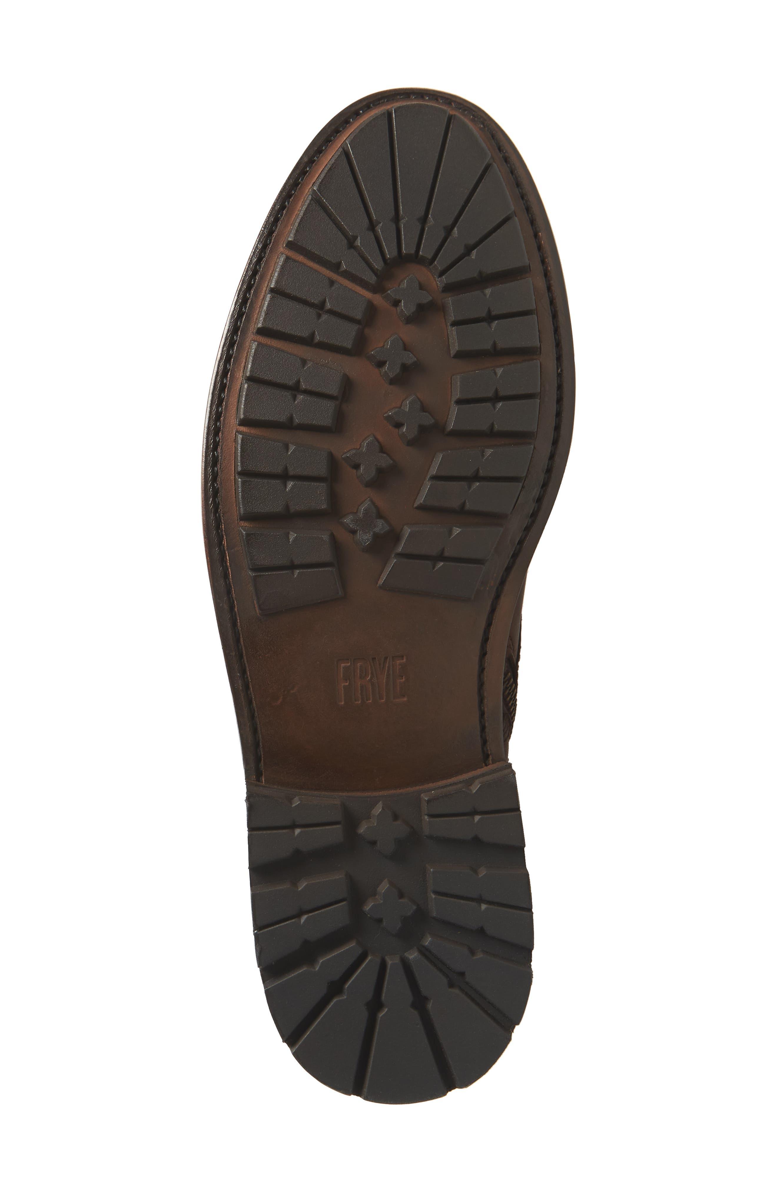 Bowery Plain Toe Boot,                             Alternate thumbnail 6, color,                             COGNAC