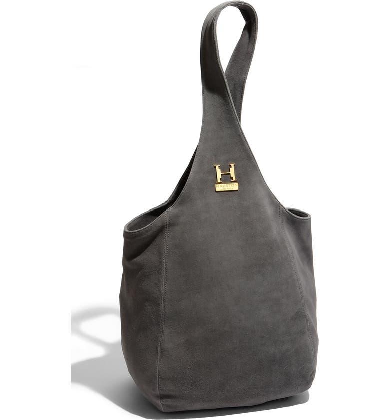 Halston Heritage  Catherine  Suede Sac Bag  2f54ef5bb3f67