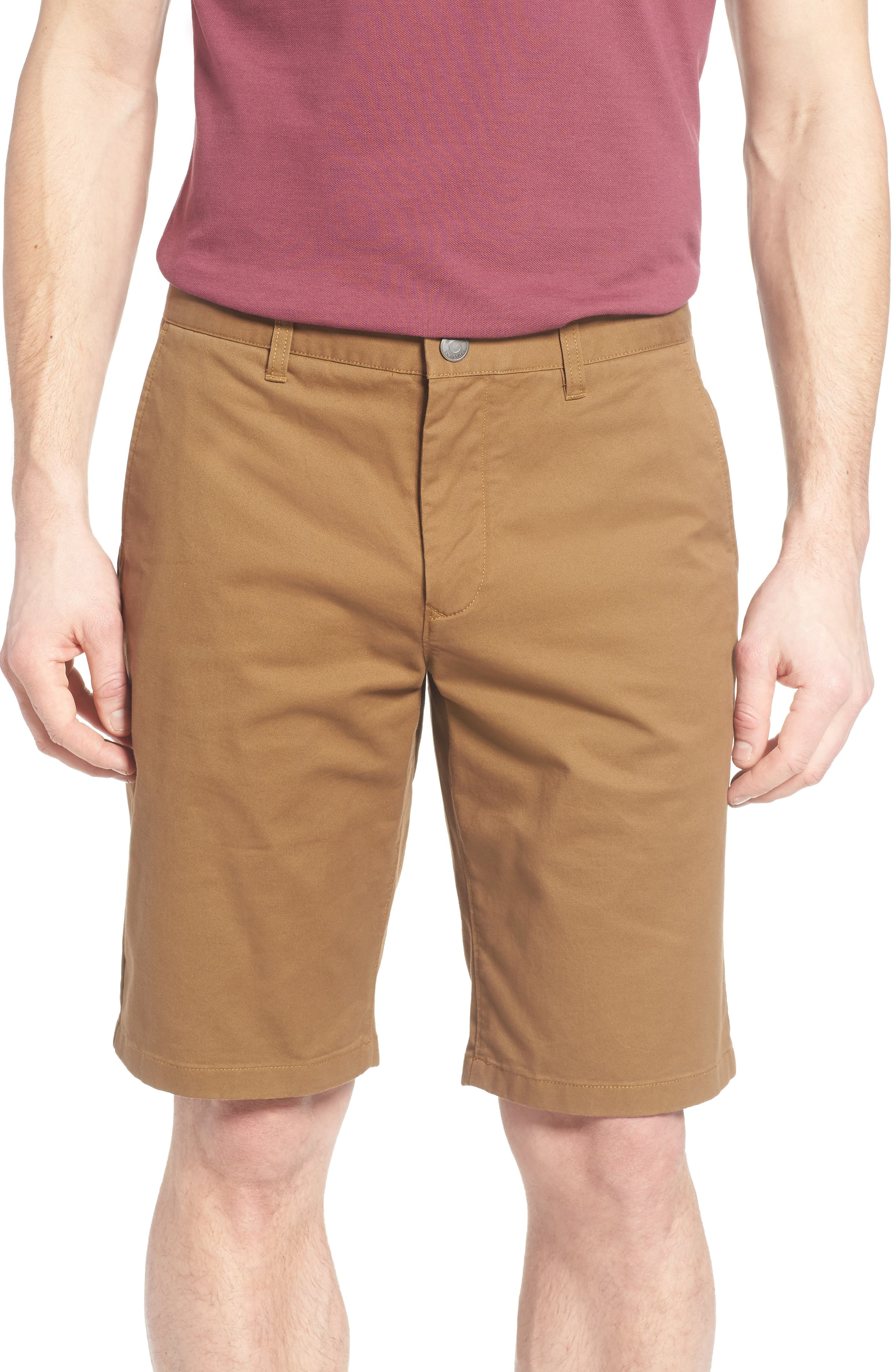 Stretch Washed Chino 11-Inch Shorts,                             Main thumbnail 16, color,
