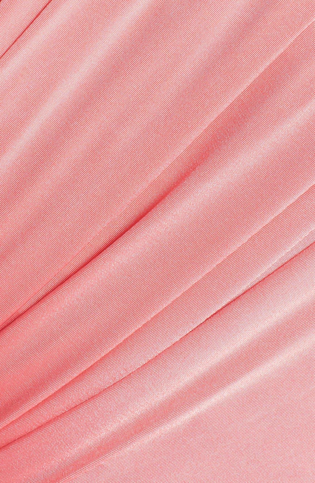 Convertible Wrap Tie Surplice Jersey Gown,                             Alternate thumbnail 41, color,