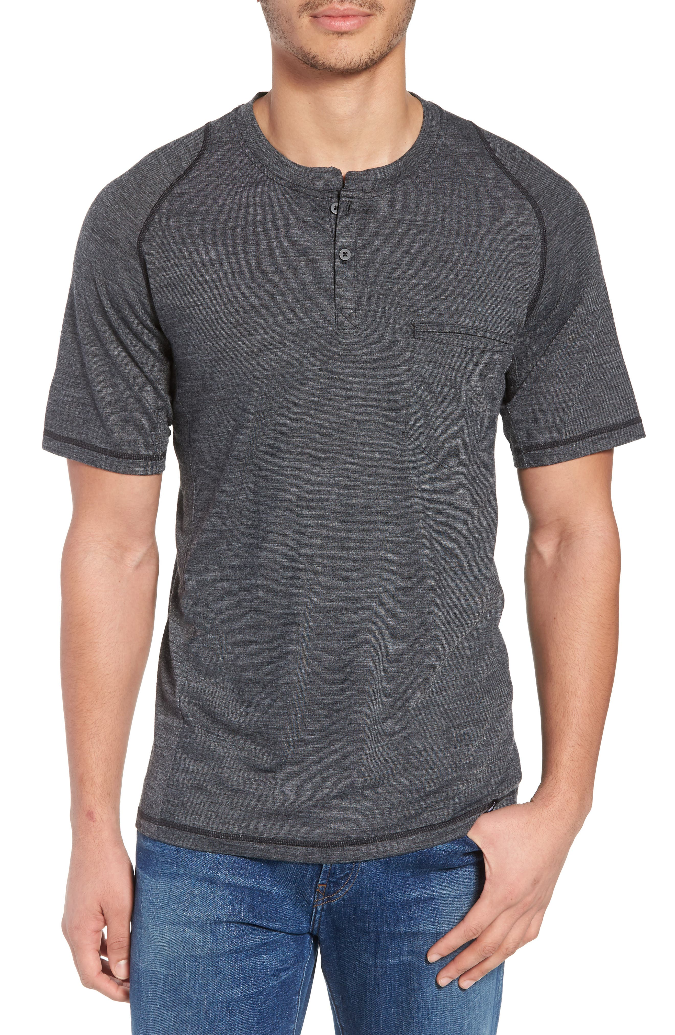Everyday Exploration Short Sleeve Henley,                         Main,                         color, 020