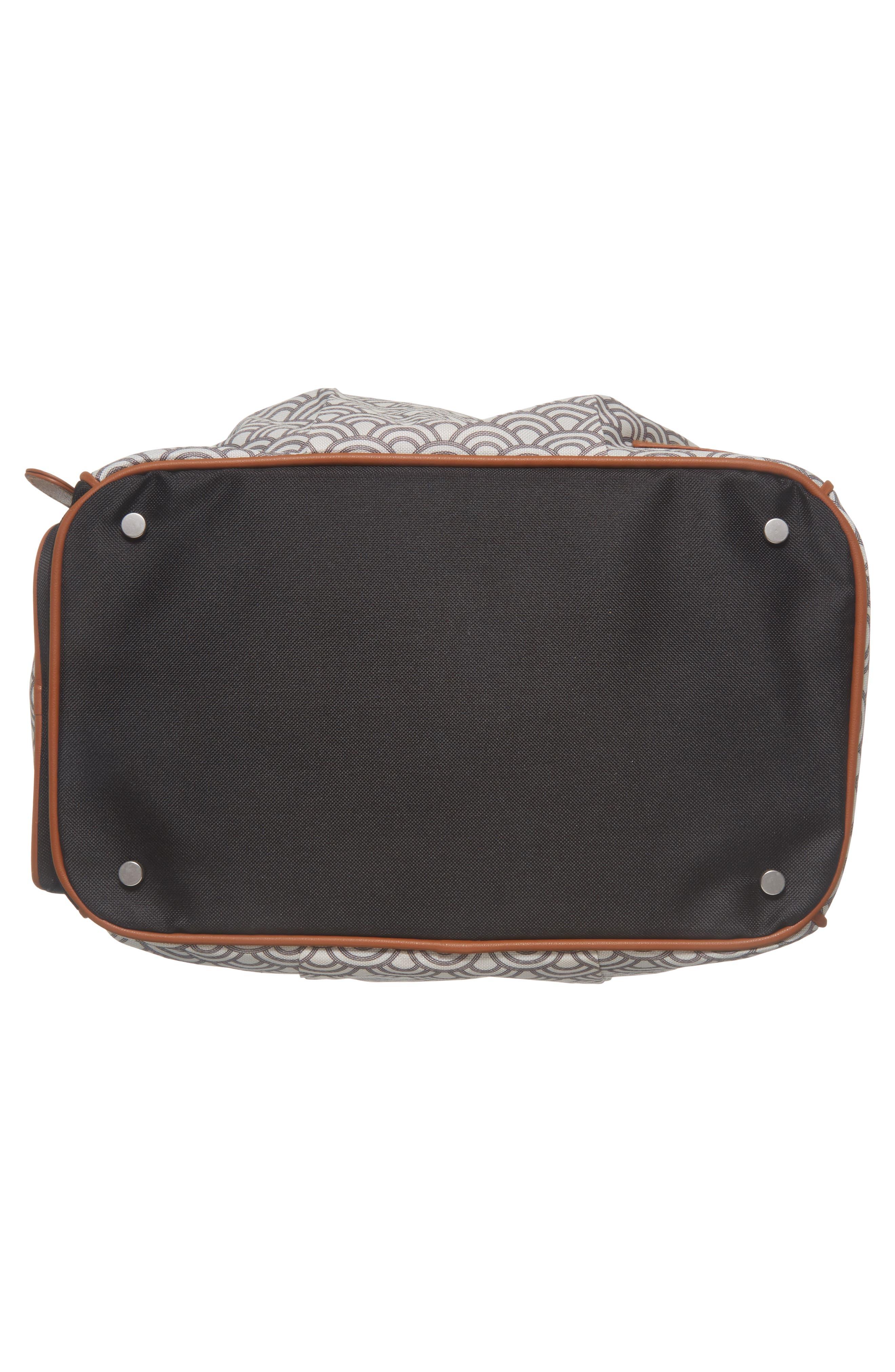 Style Diaper Bag,                             Alternate thumbnail 7, color,                             BLACK