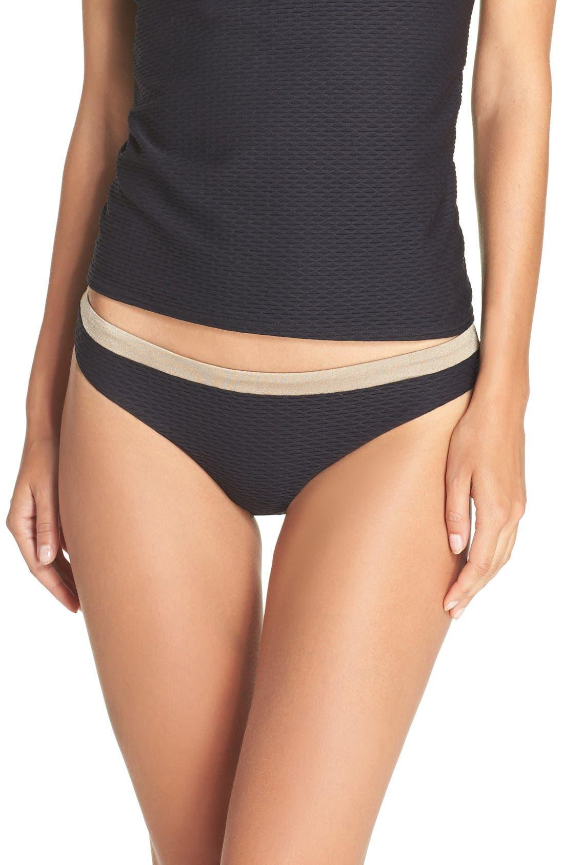 'Monaco' Bikini Bottoms,                         Main,                         color, 001