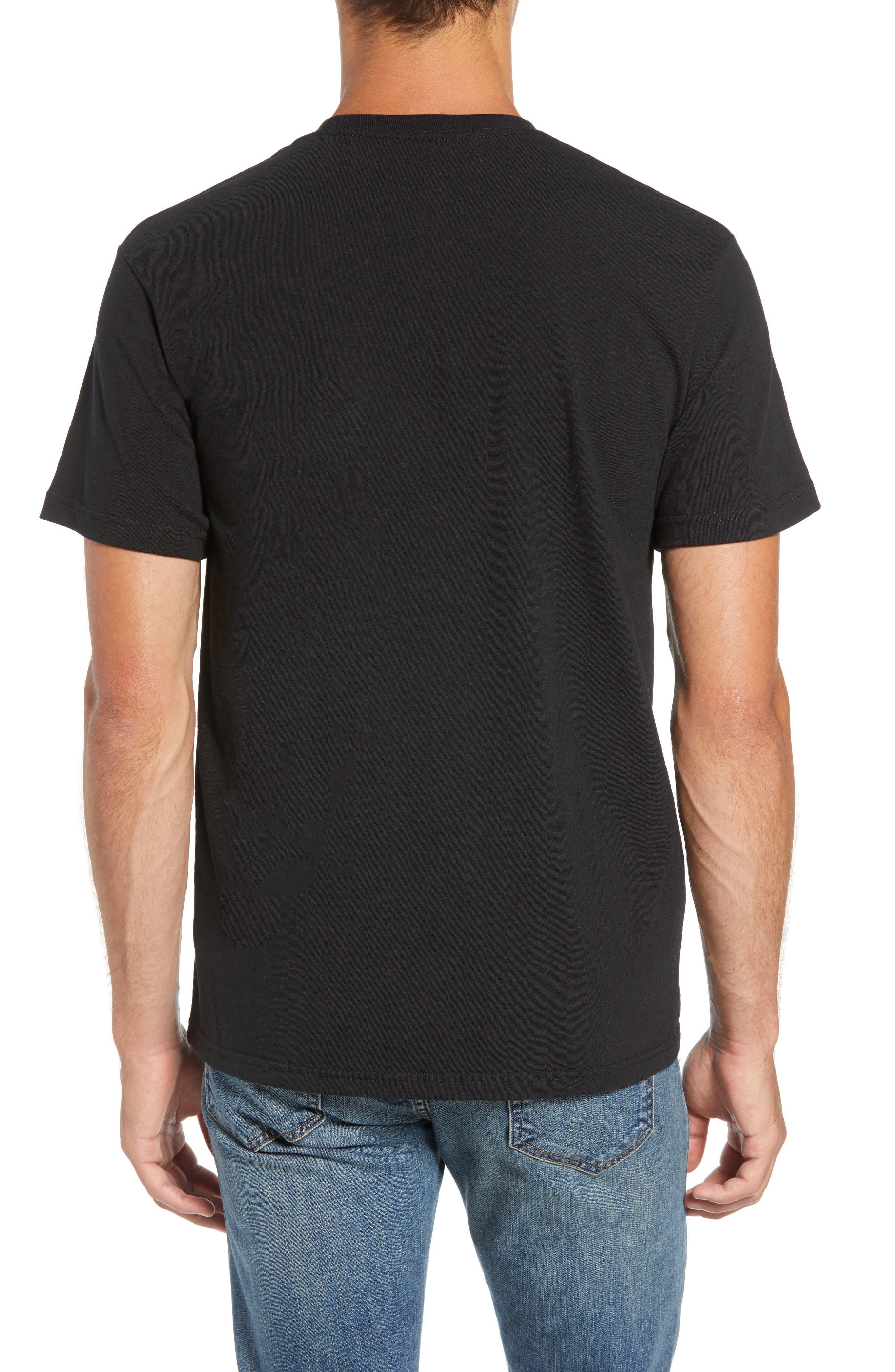 Shop Sticker Responsibili-Tee T-Shirt,                             Alternate thumbnail 2, color,                             BLACK