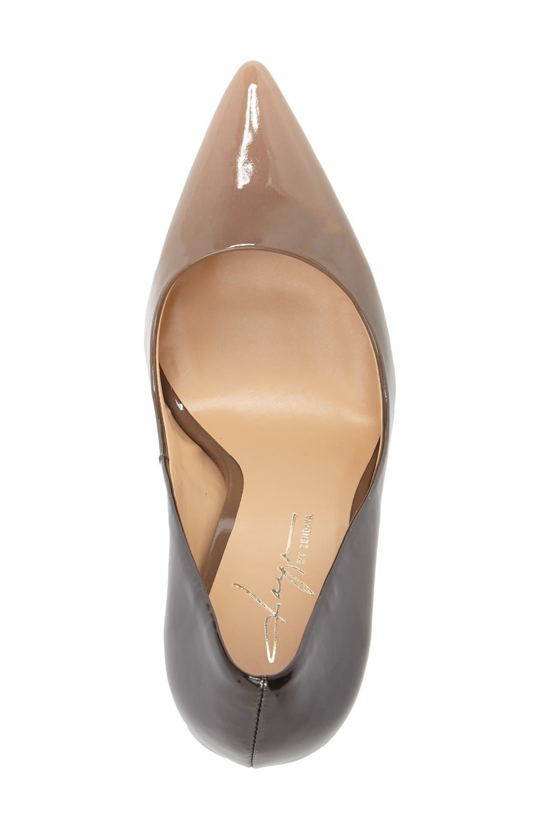 by Zendaya 'Atmore II' Pointy Toe Pump,                             Alternate thumbnail 3, color,                             250