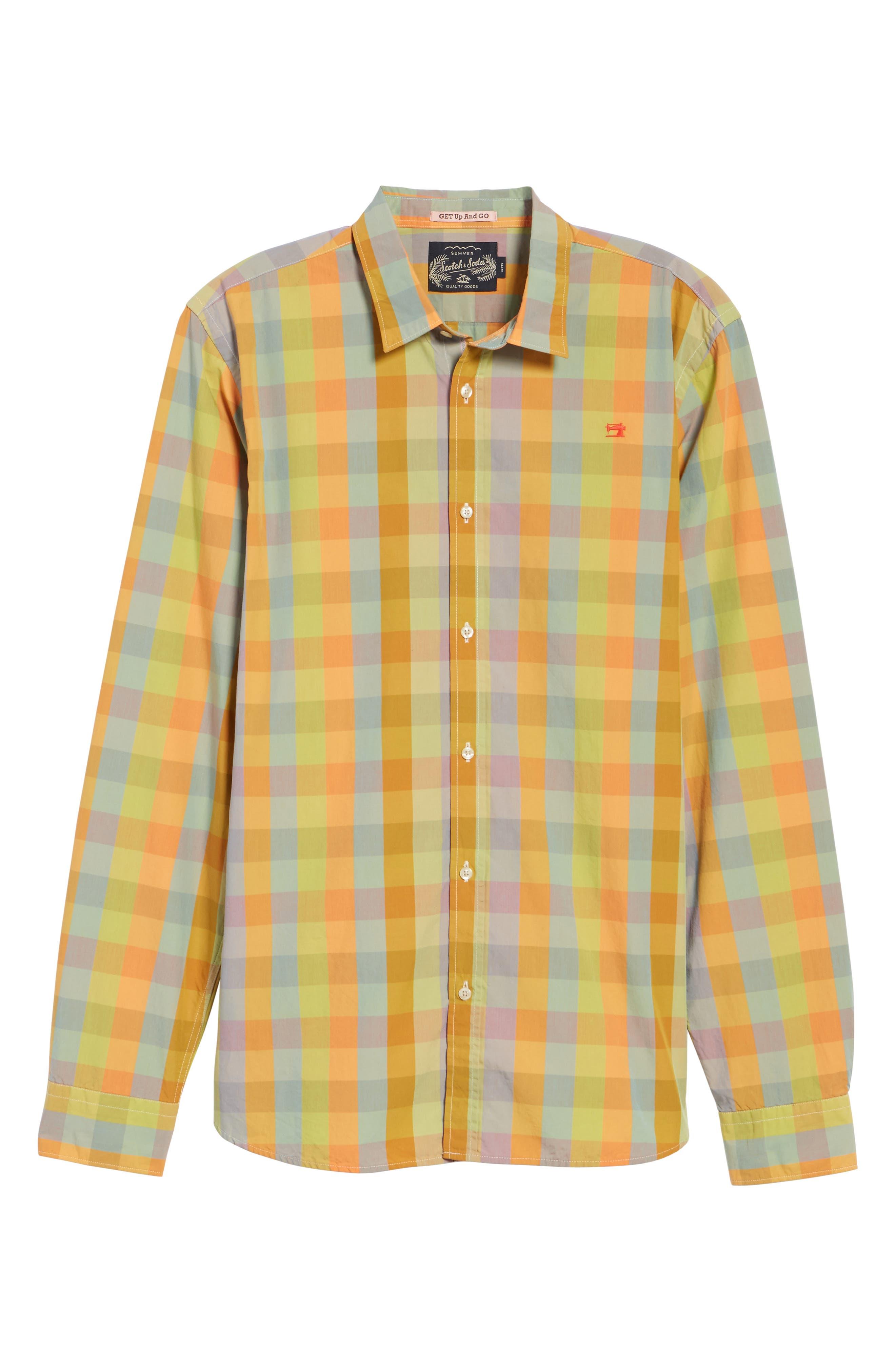 Slim Fit Poplin Shirt,                             Alternate thumbnail 6, color,                             400