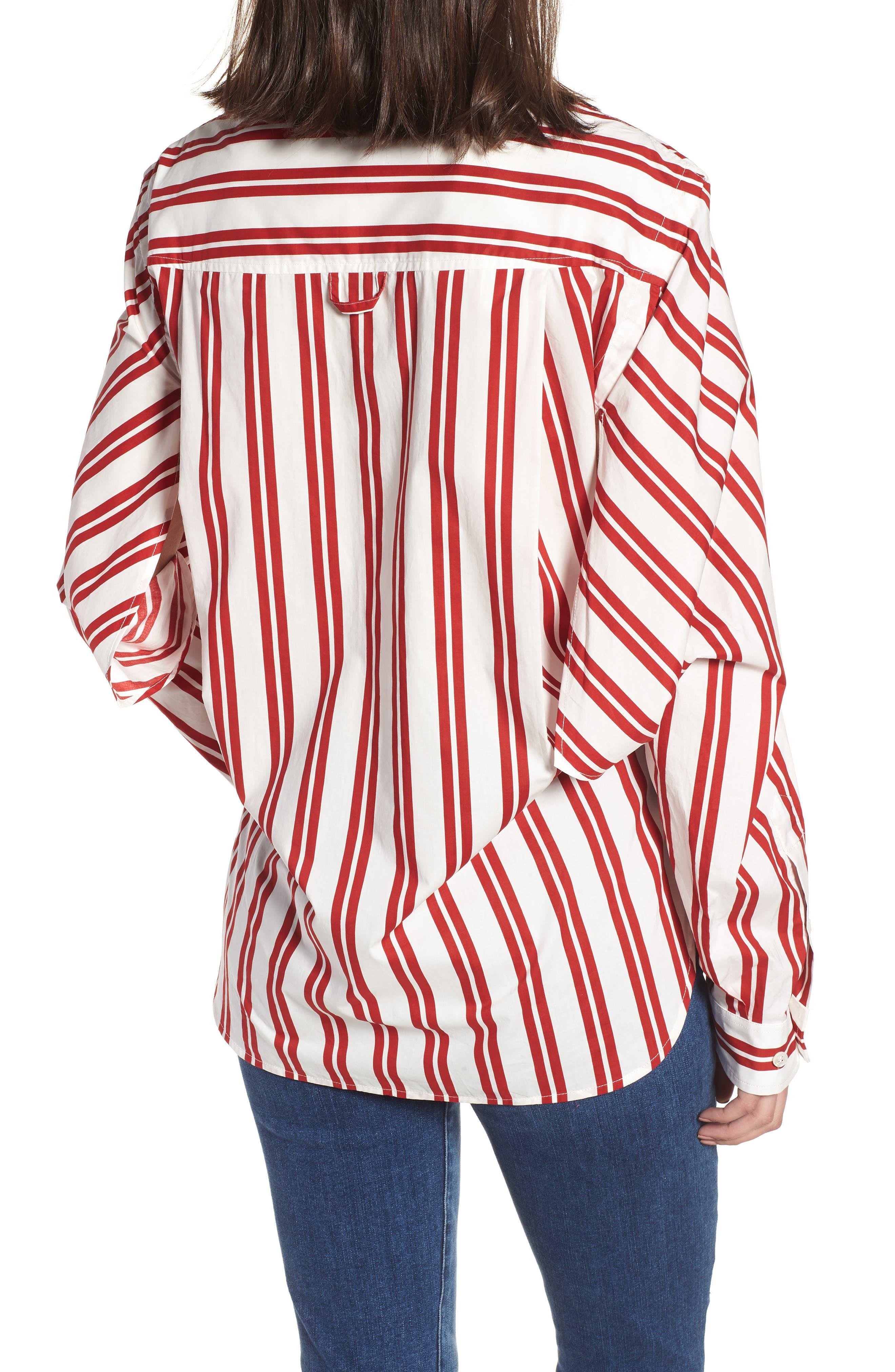 Hug Me Tie Hem Shirt,                             Alternate thumbnail 2, color,                             640