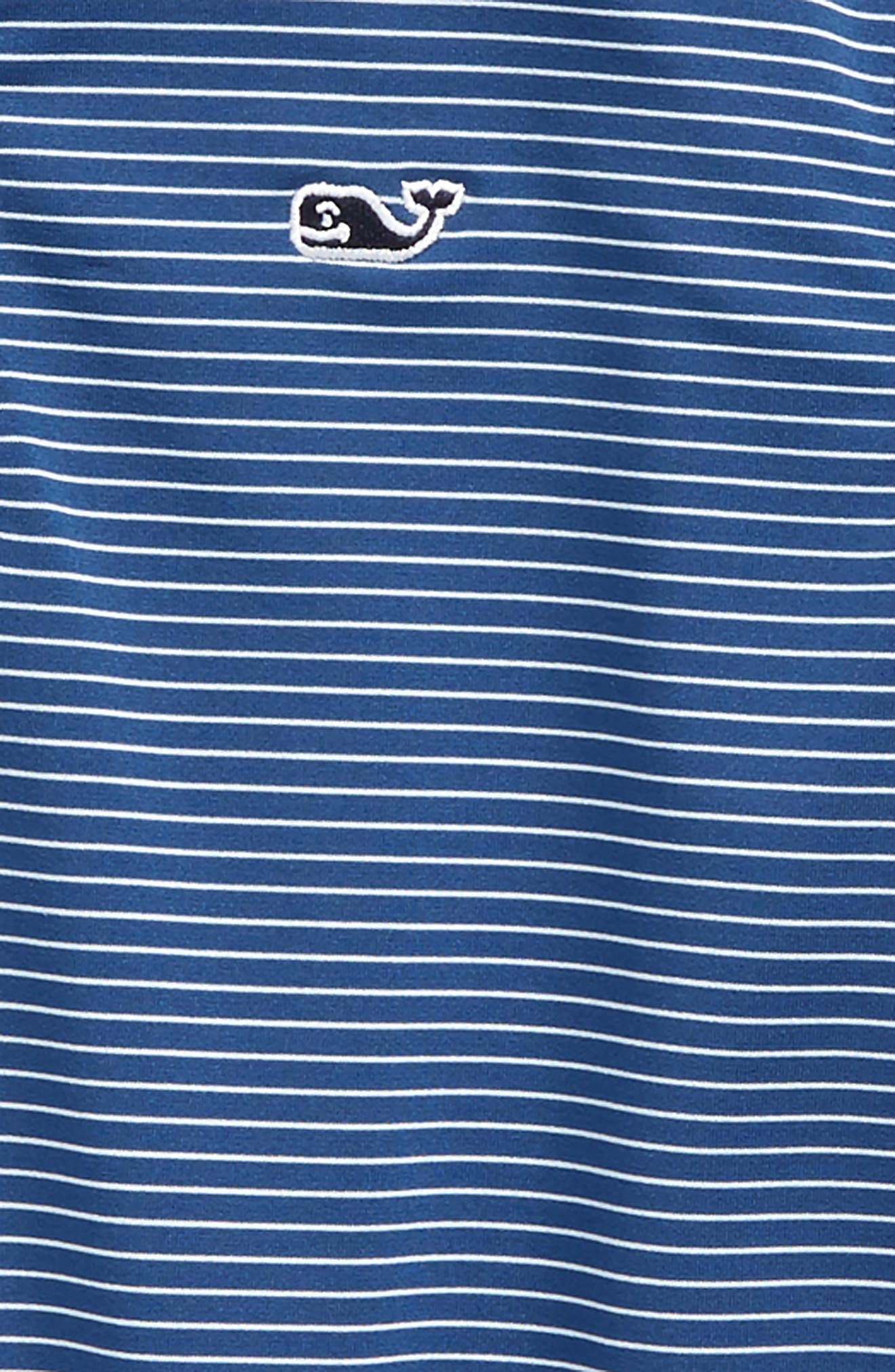 Wilson Stripe Performance Polo,                             Alternate thumbnail 4, color,