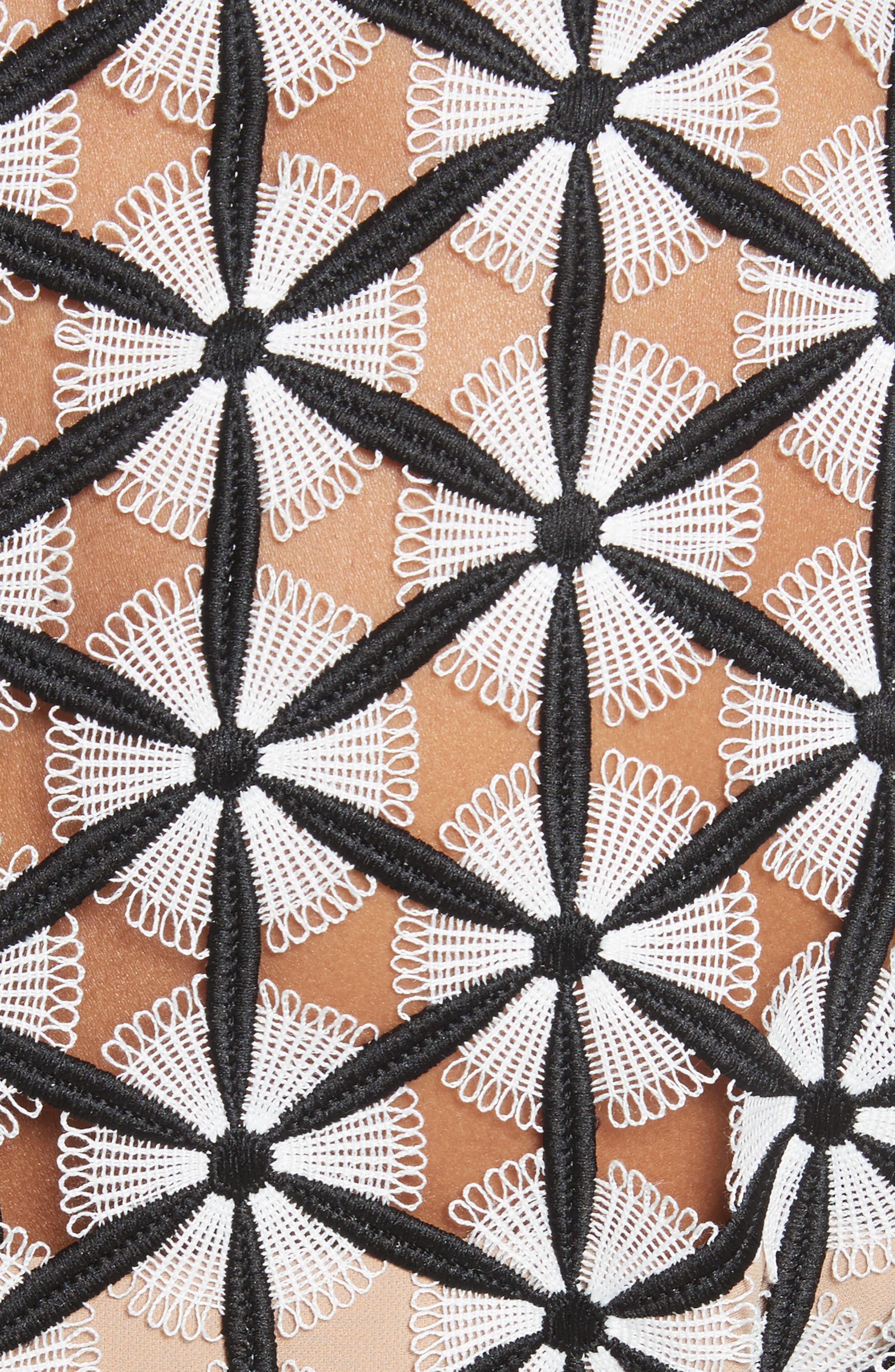 Guipure Lace Maxi Dress,                             Alternate thumbnail 5, color,