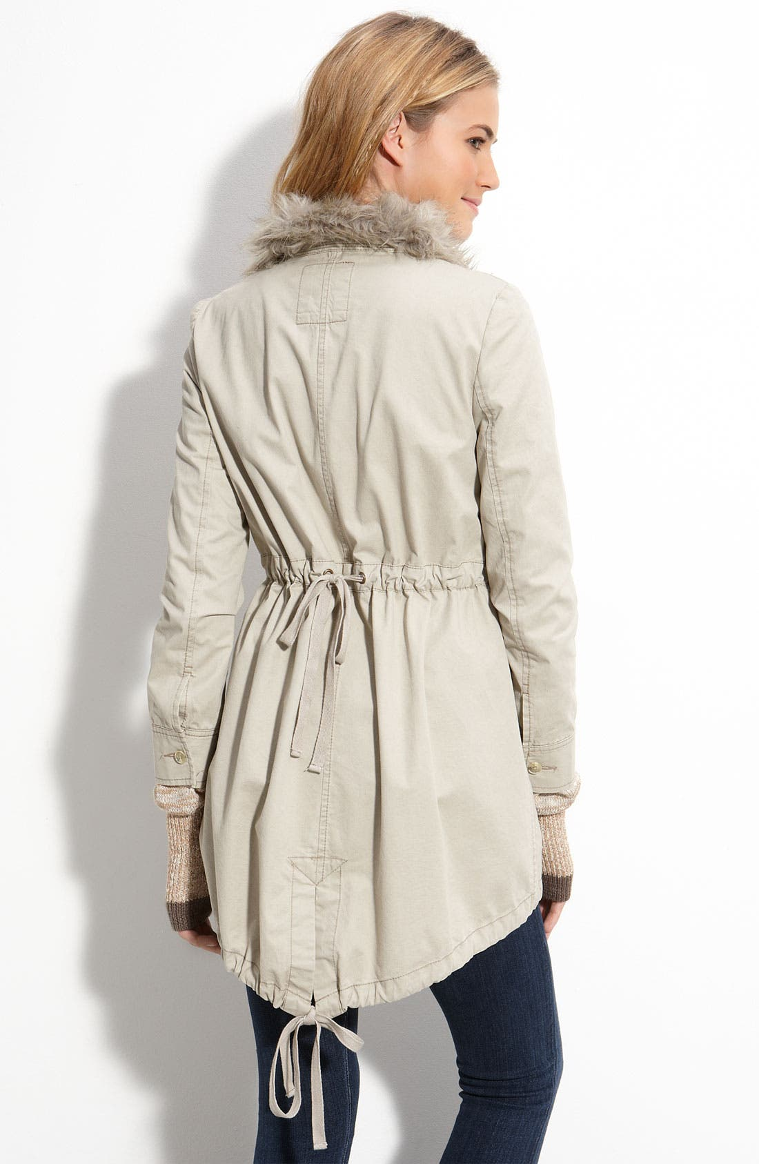 FREE PEOPLE,                             Sweater Lined Parka,                             Alternate thumbnail 2, color,                             075