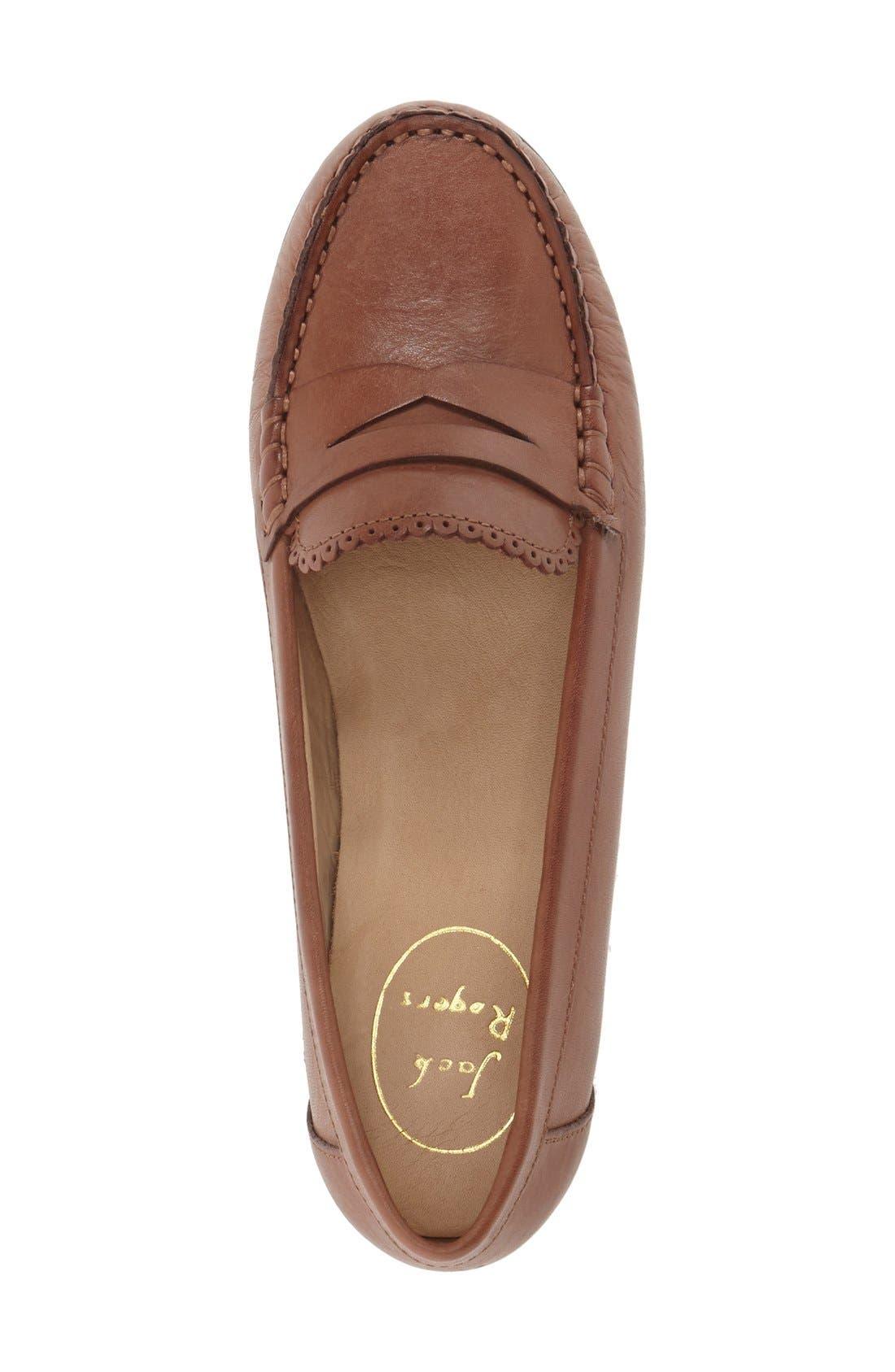 'Quinn' Leather Loafer,                             Alternate thumbnail 16, color,