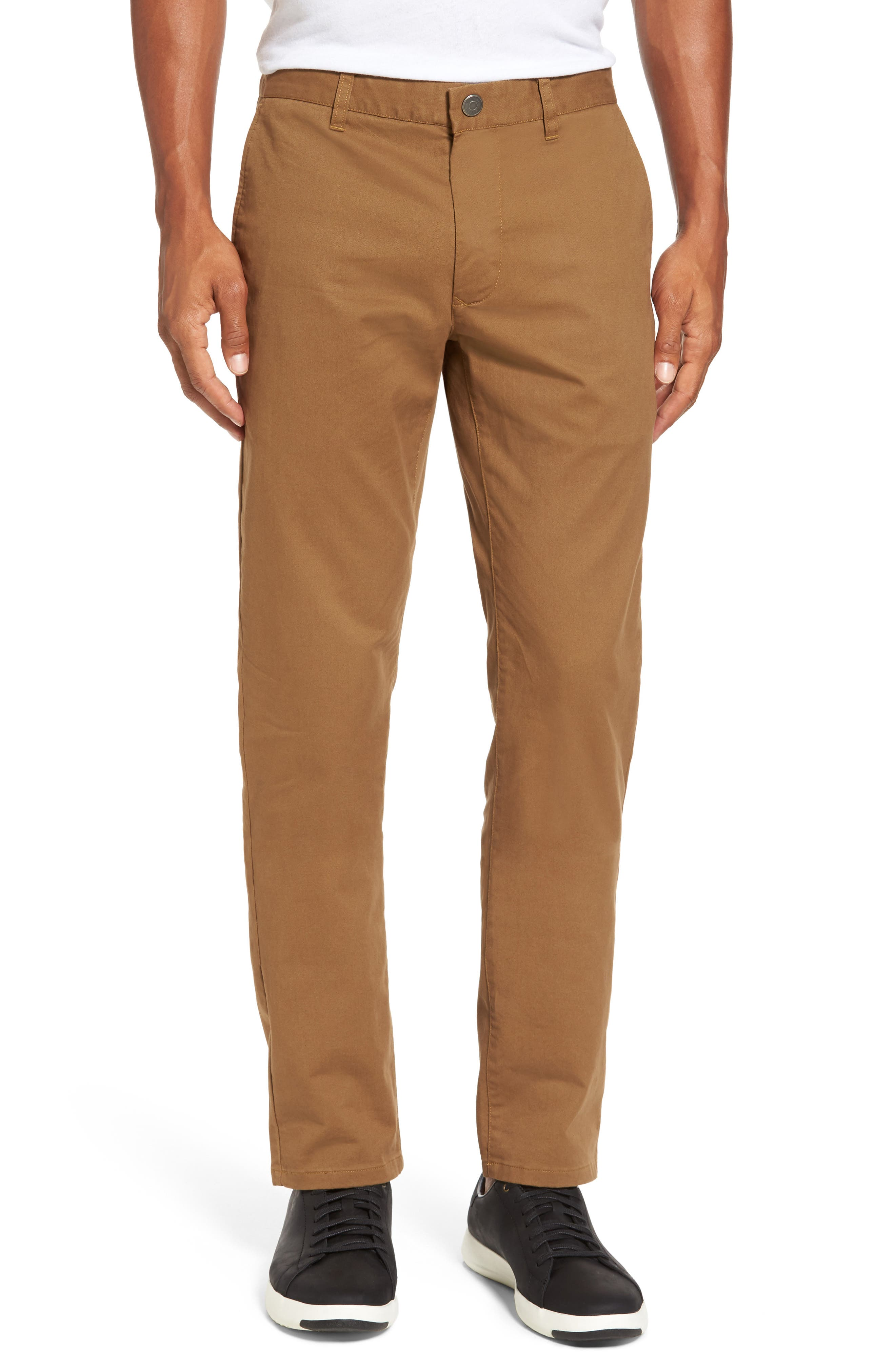 Tailored Fit Washed Stretch Cotton Chinos,                             Main thumbnail 5, color,