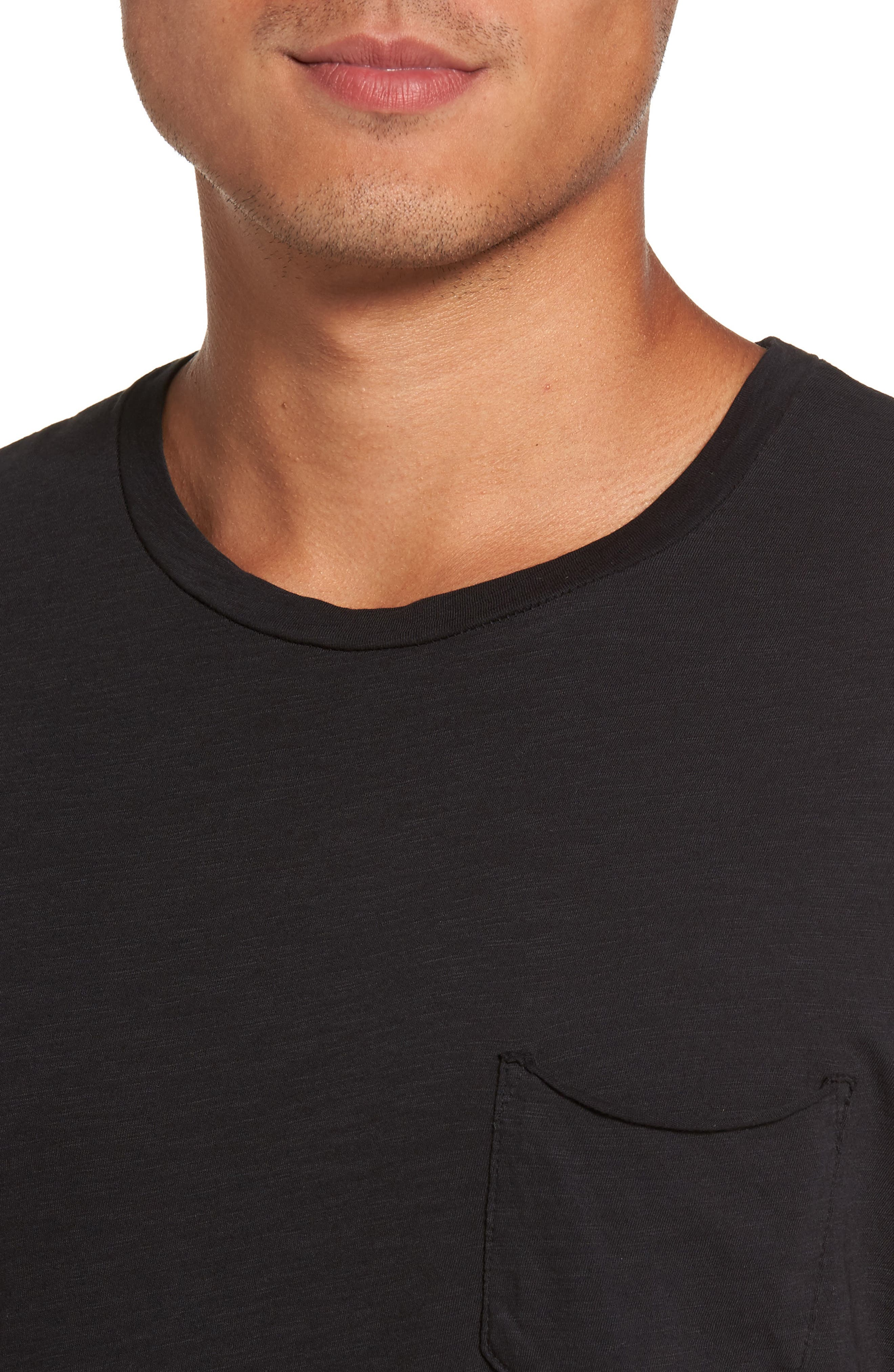 Chase Classic Crewneck T-Shirt,                             Alternate thumbnail 4, color,                             003