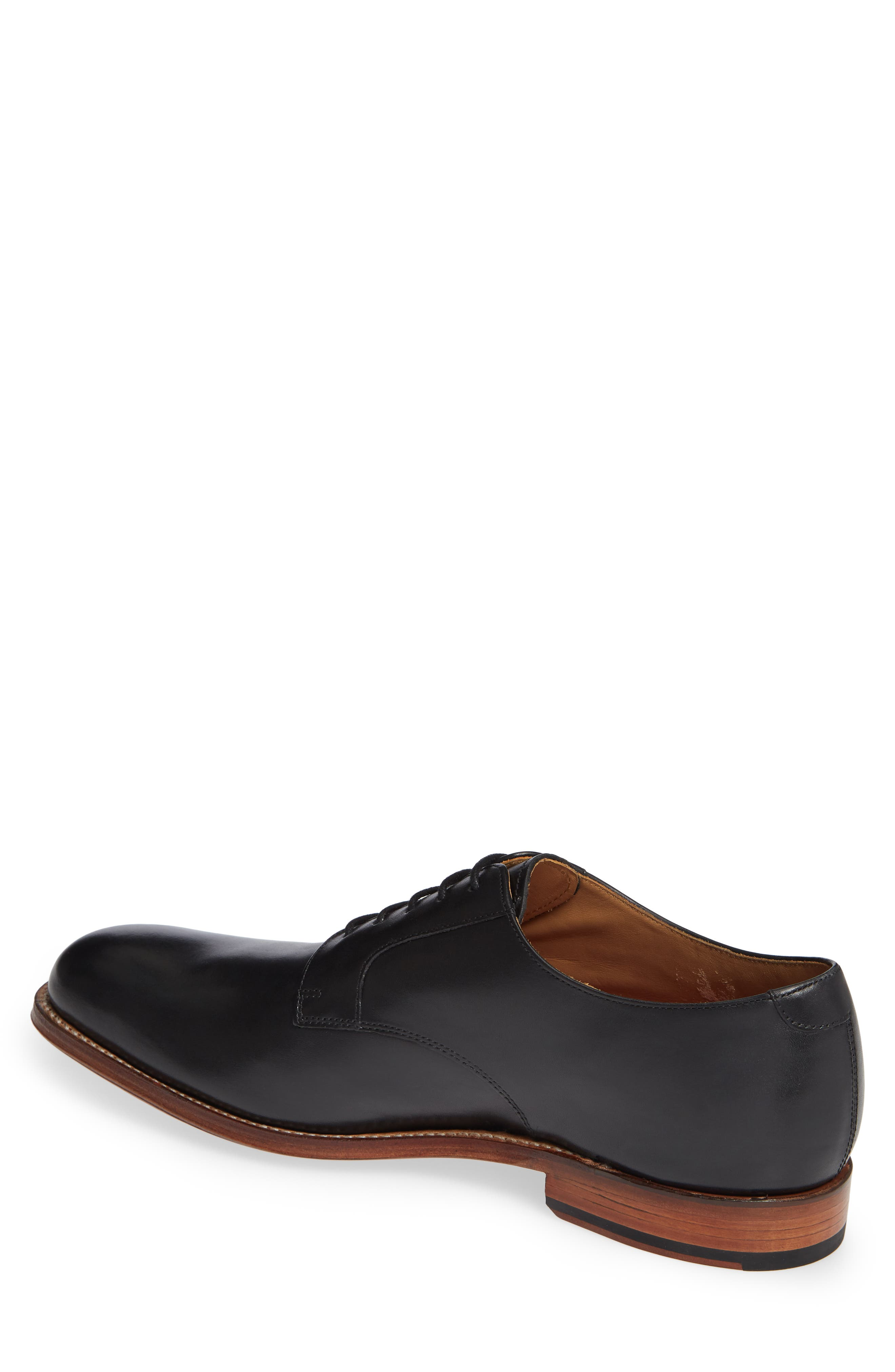 Liam Plain Toe Derby,                             Alternate thumbnail 2, color,                             BLACK