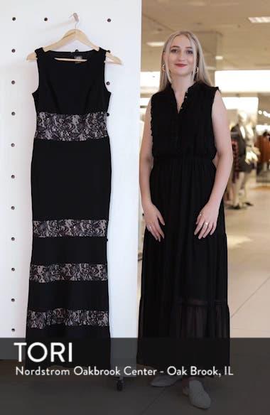 Lace Panel Trumpet Gown, sales video thumbnail
