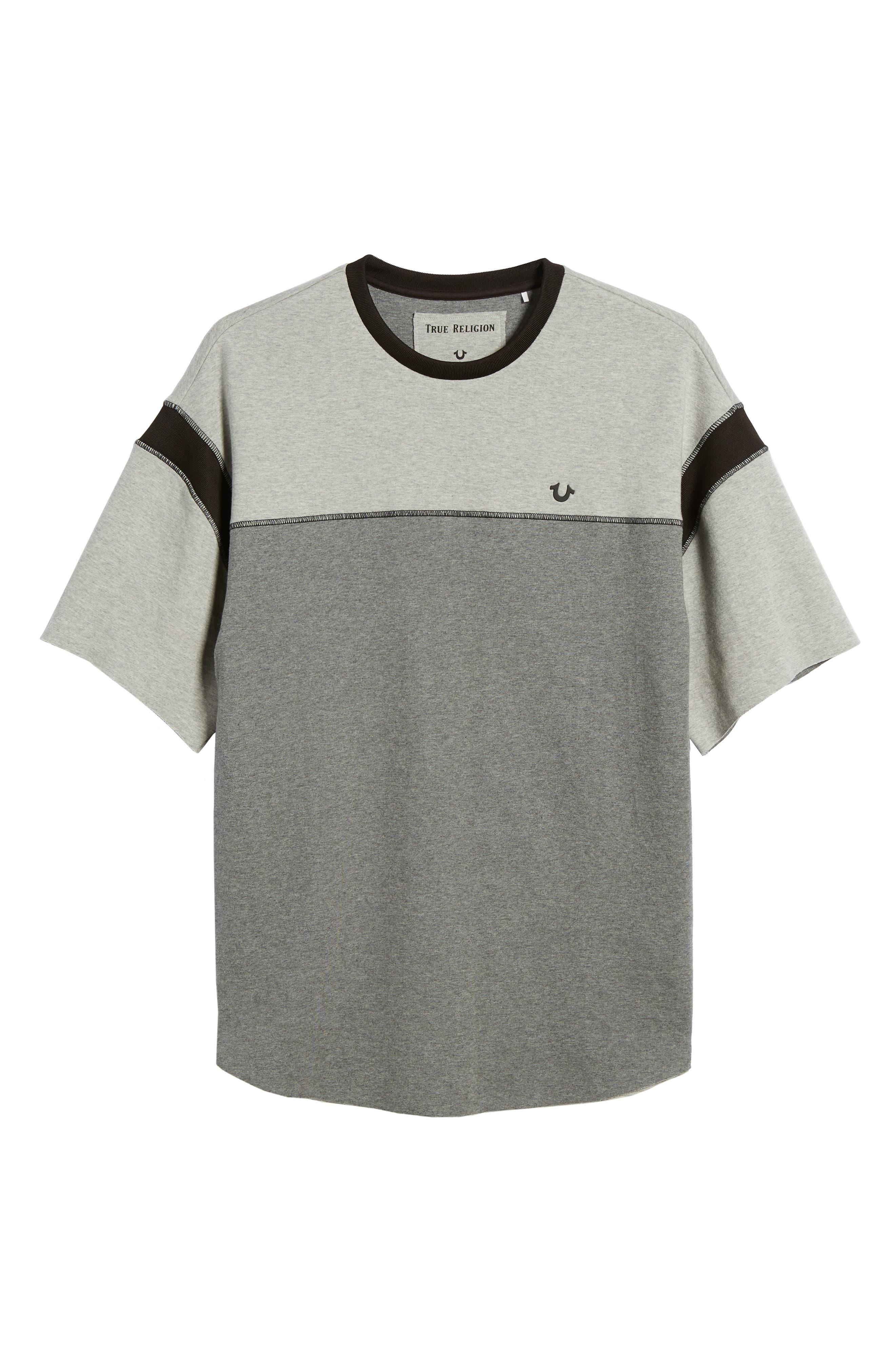 Football T-Shirt,                             Alternate thumbnail 6, color,                             020