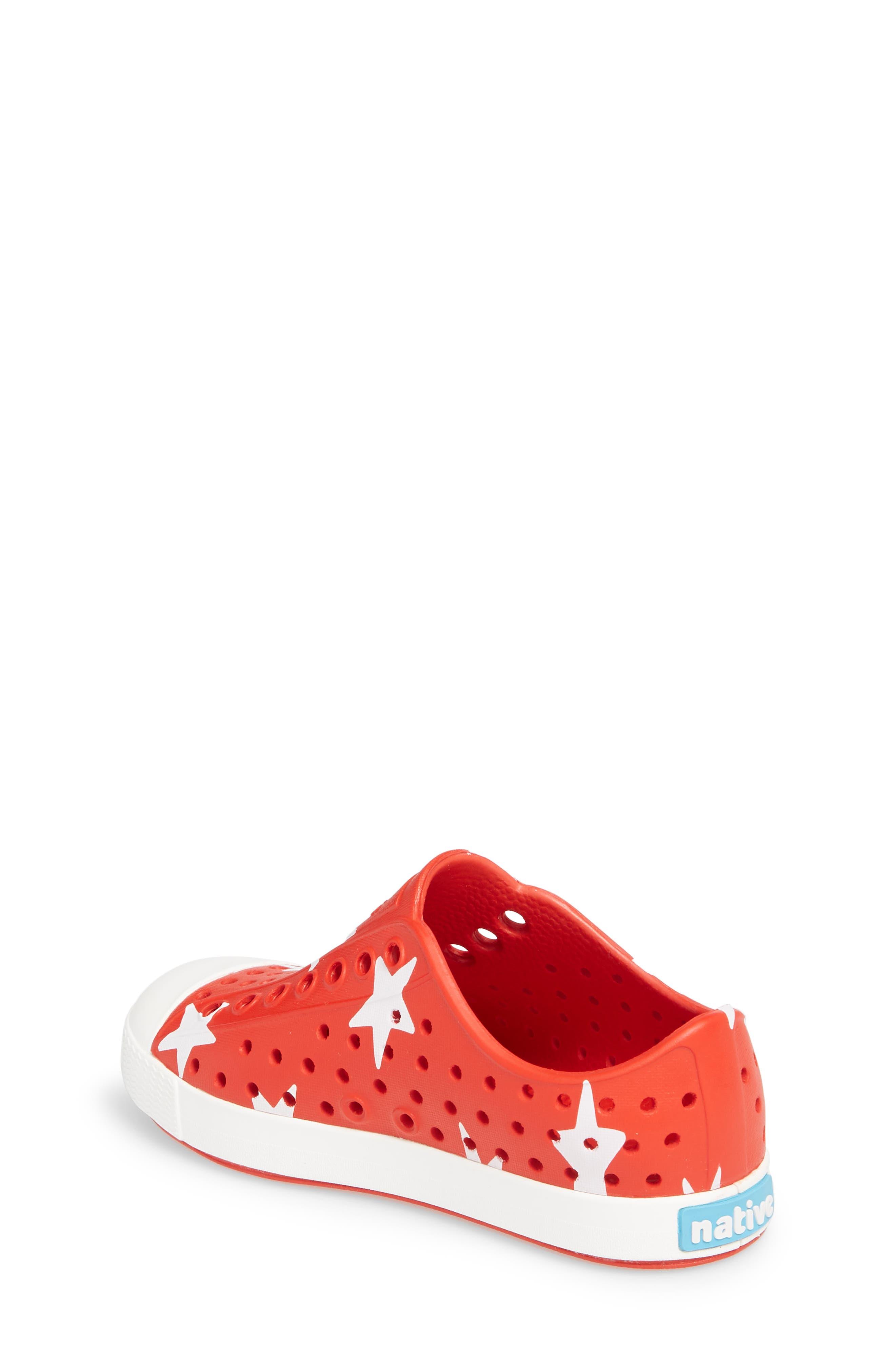 Jefferson Quartz Slip-On Sneaker,                             Alternate thumbnail 2, color,                             TORCH RED/ BONE WHITE/ STAR