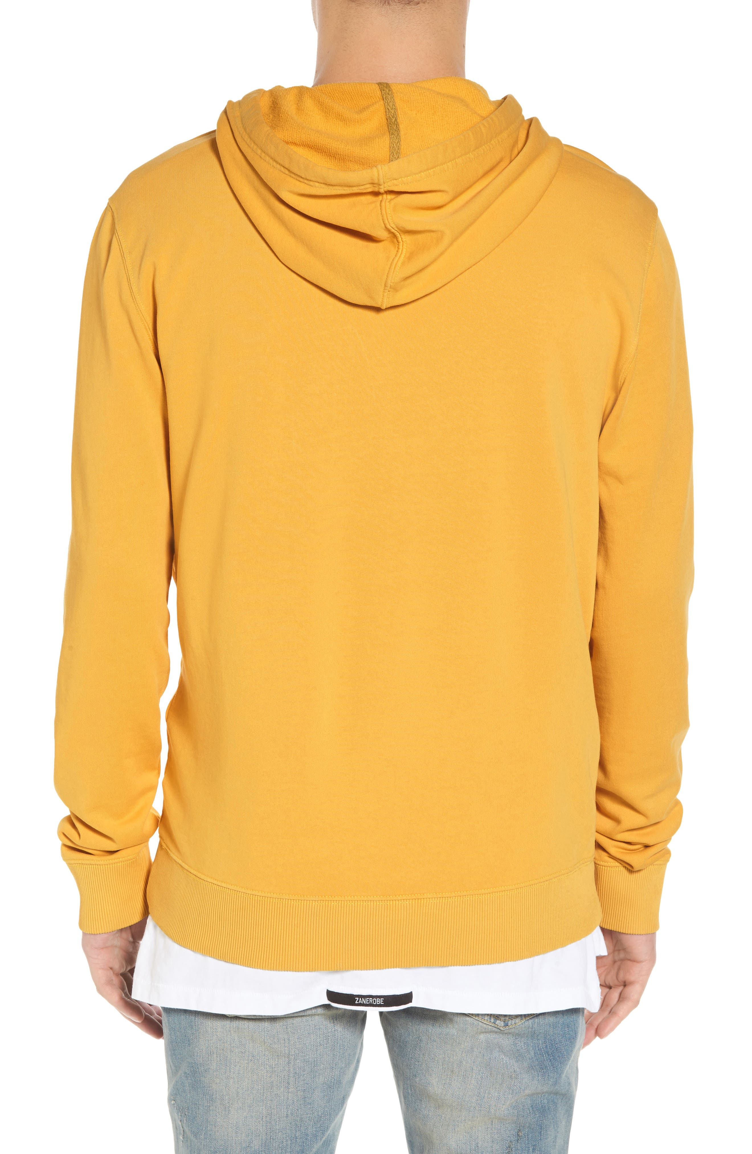 Pop Color Hoodie,                             Alternate thumbnail 2, color,                             SPECTRA YELLOW