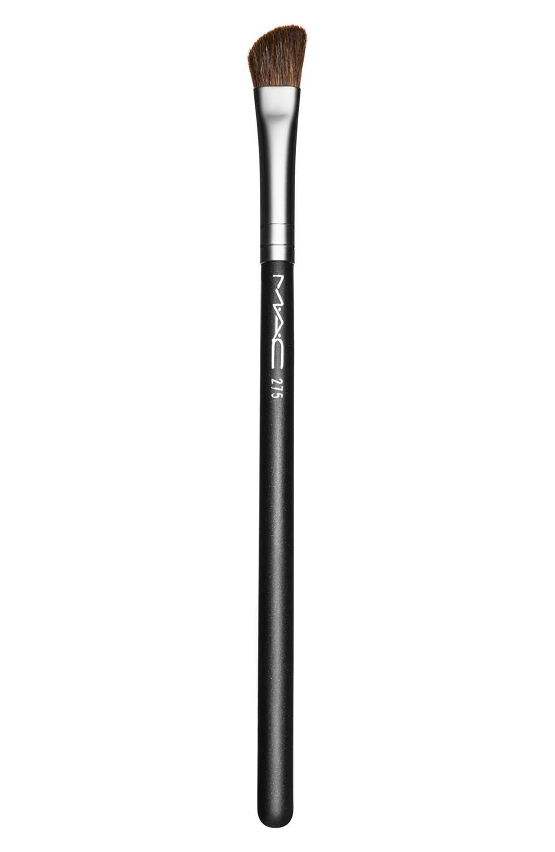 MAC 275 Medium Angled Shading Brush,                             Main thumbnail 1, color,                             000