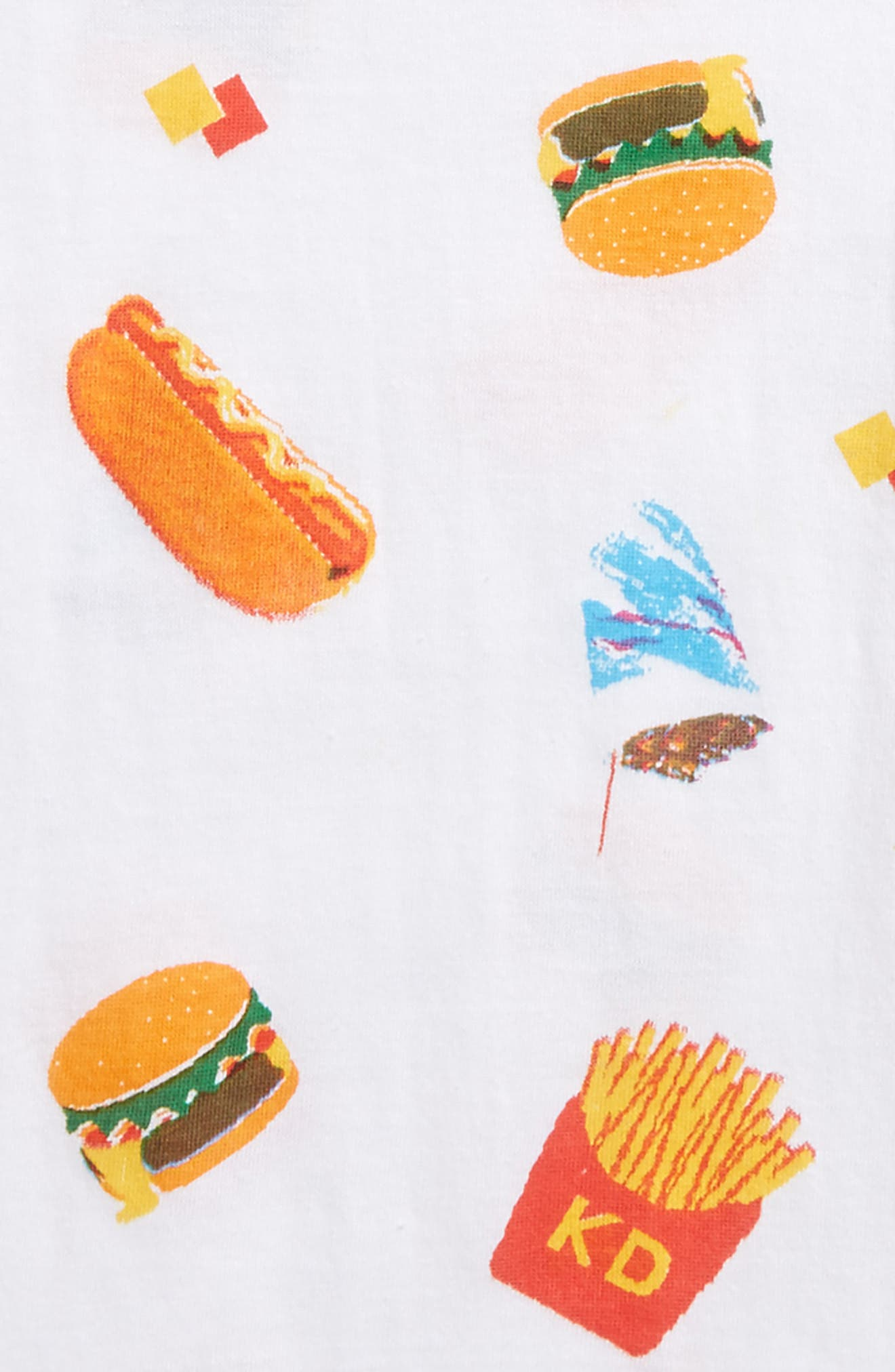 Fast Food T-Shirt,                             Alternate thumbnail 2, color,                             100