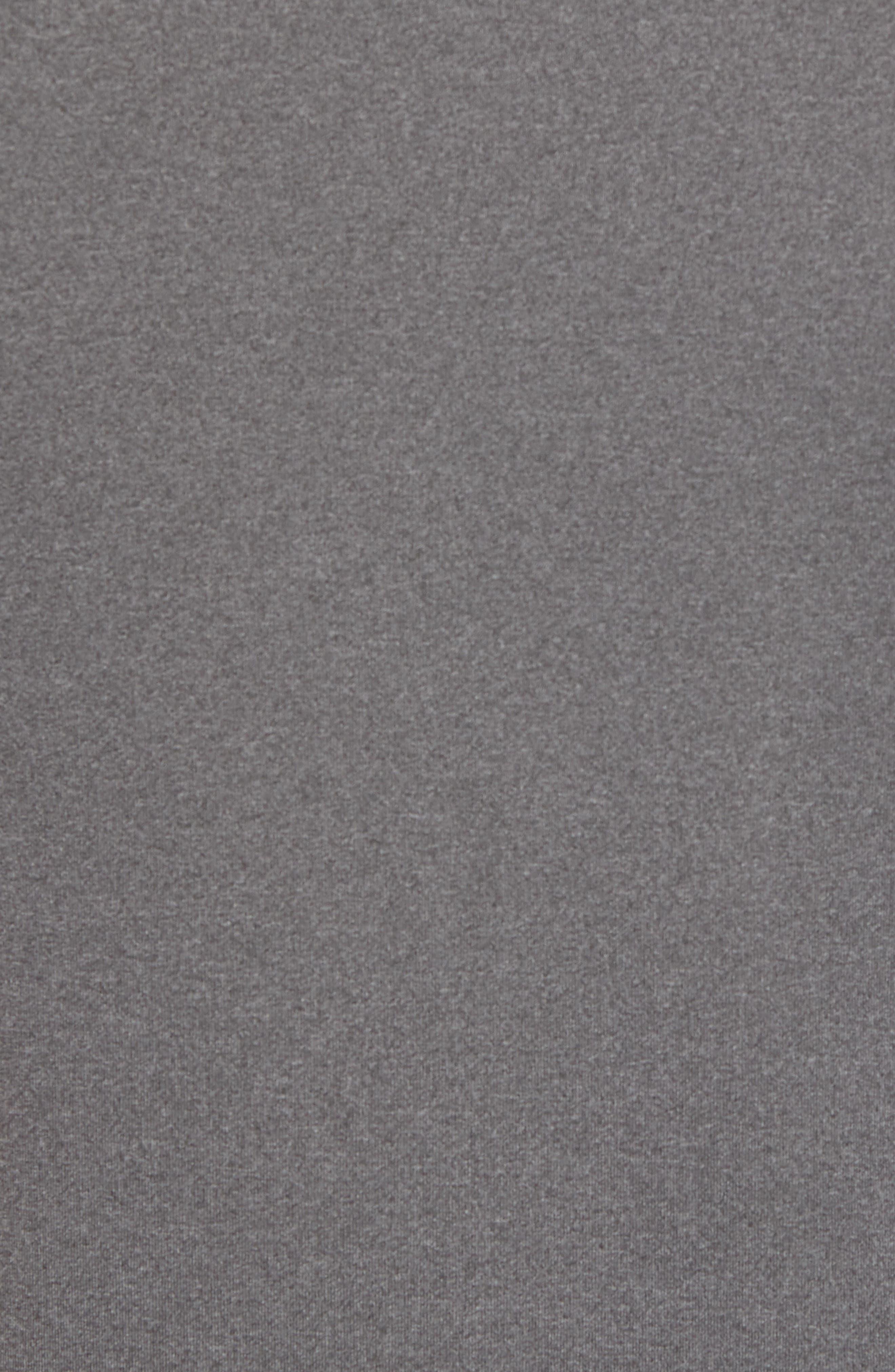Quarter Zip Tech Vest,                             Alternate thumbnail 5, color,                             GRAPHITE HEATHER