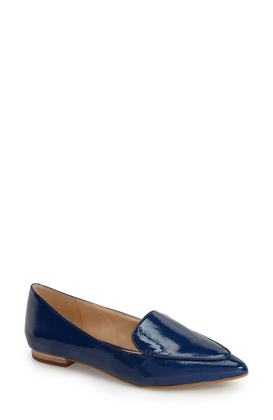'Cammila' Pointy Toe Loafer,                             Main thumbnail 9, color,