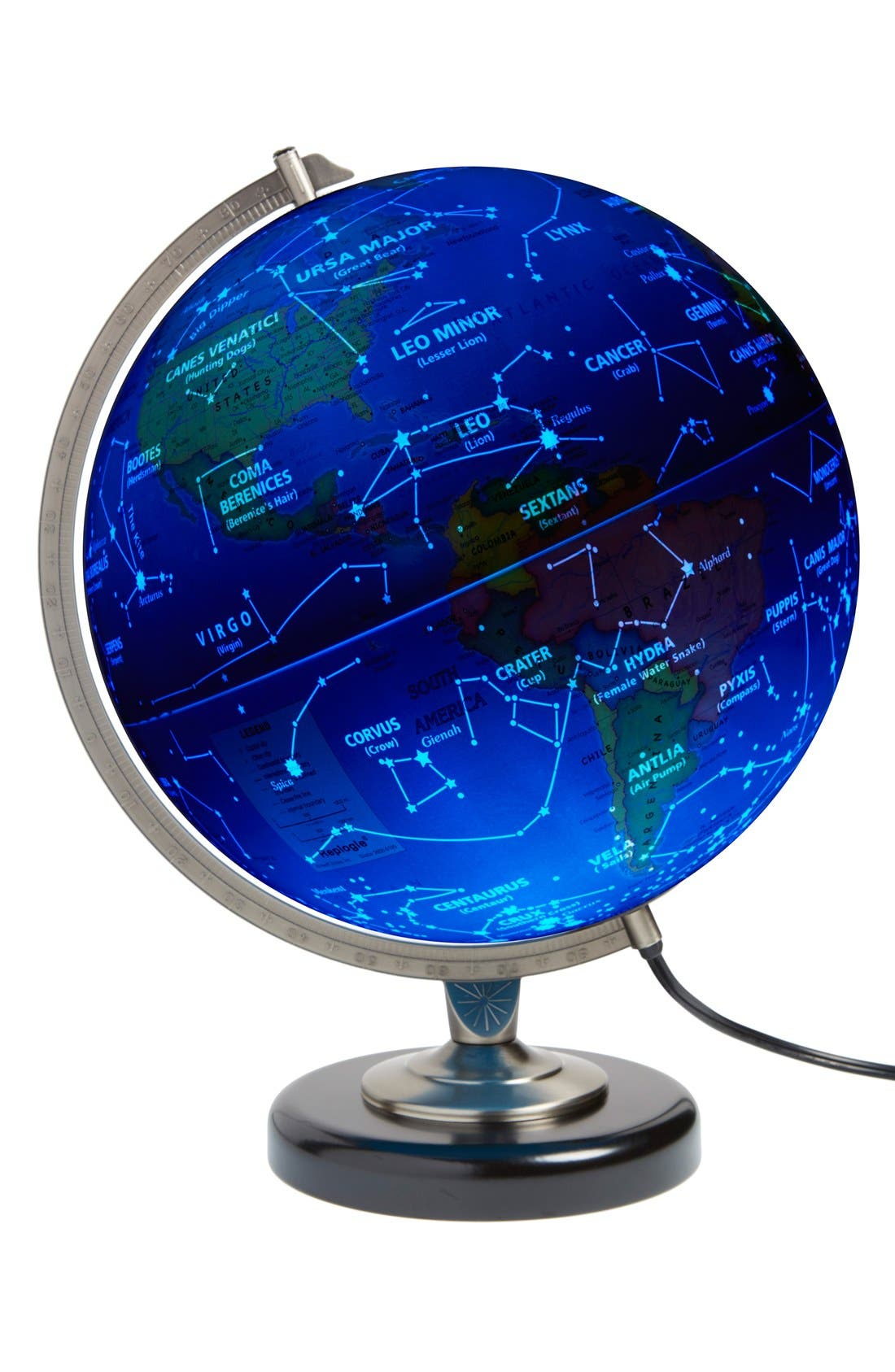 'Day & Night' Globe,                             Alternate thumbnail 2, color,                             BLUE OCEAN