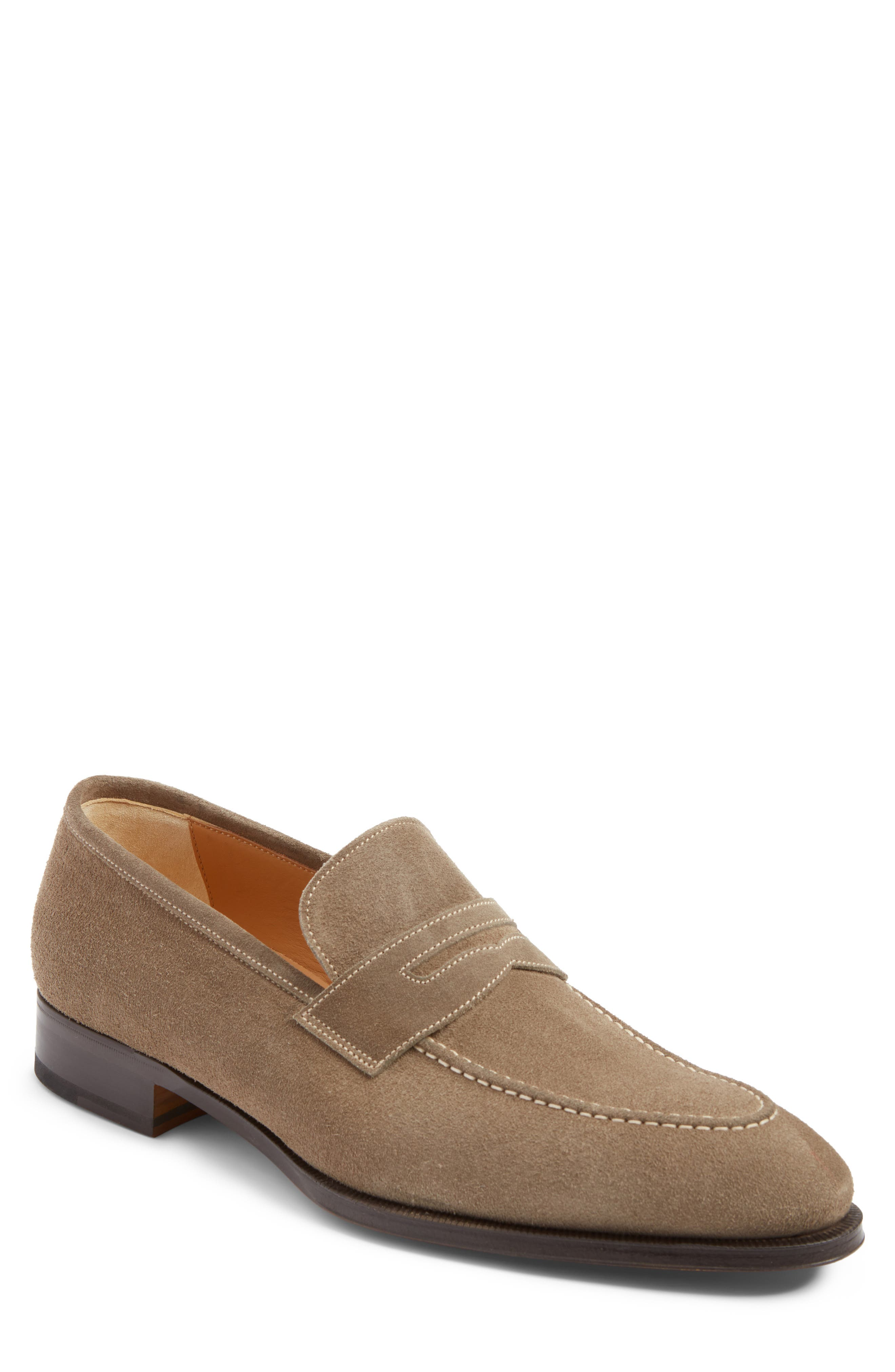 Leather Penny Loafer,                             Main thumbnail 5, color,