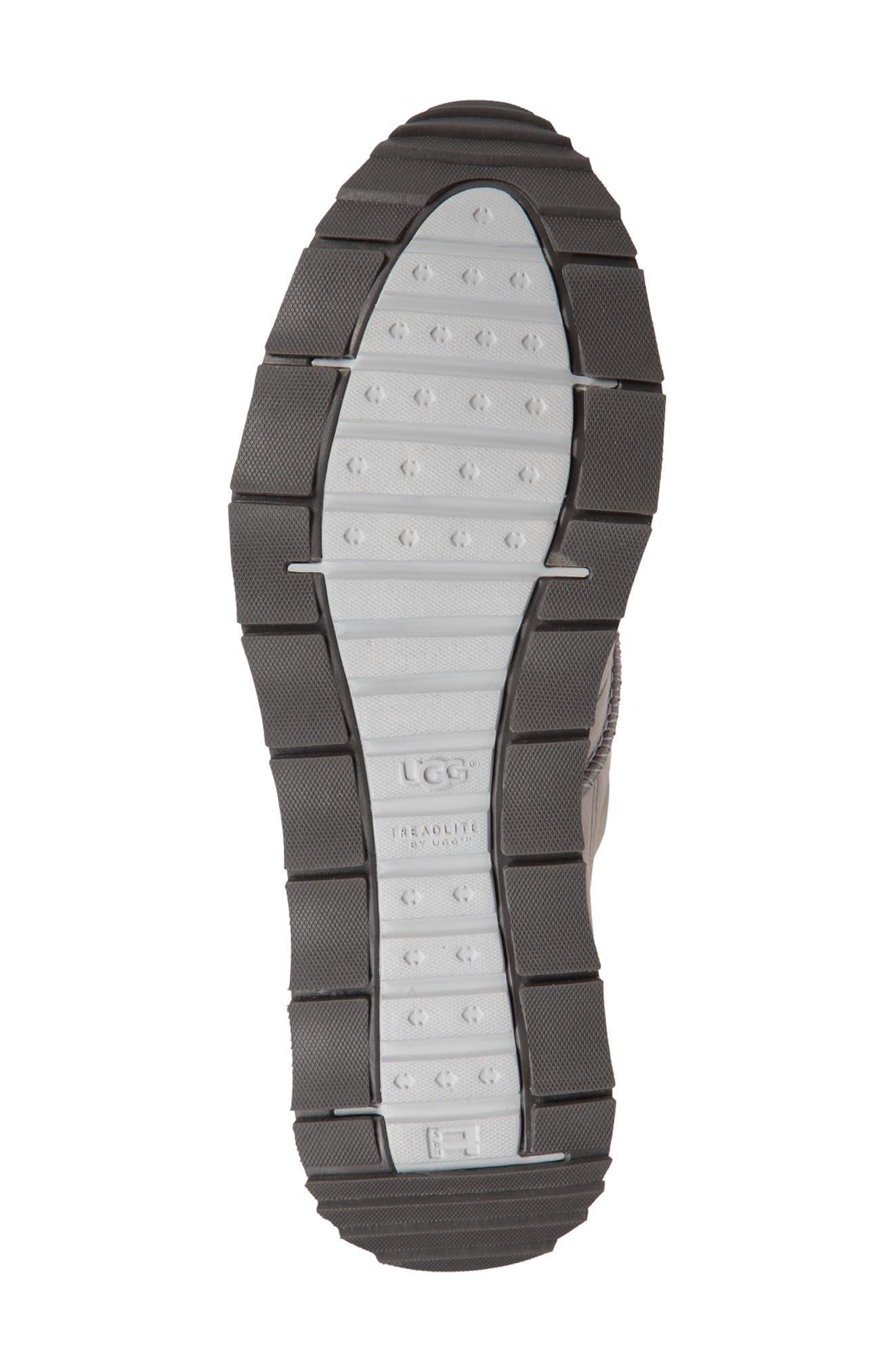 Trigo Unlined Sneaker,                             Alternate thumbnail 5, color,                             SEAL