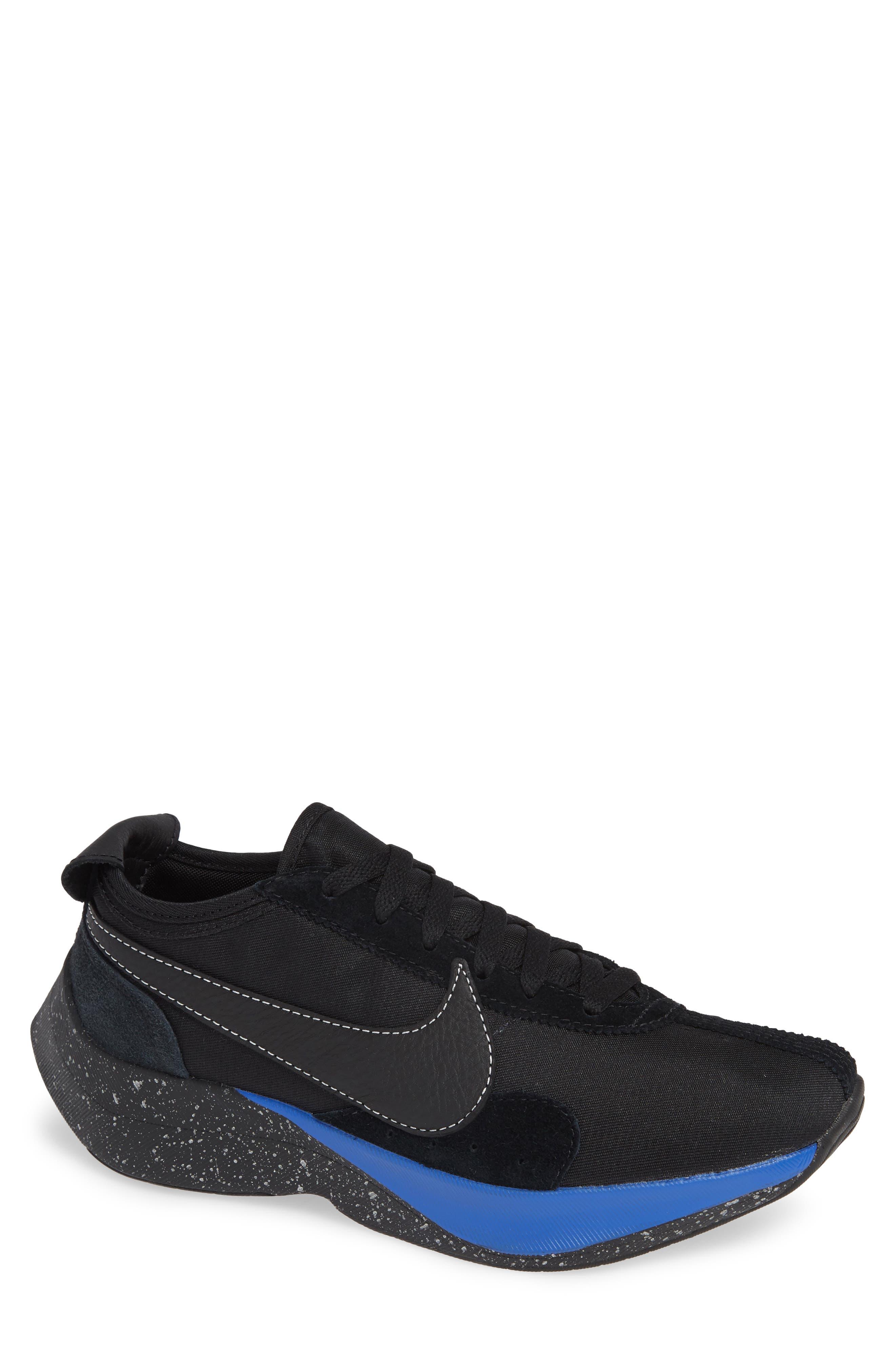NIKE,                             Moon Racer QS Sneaker,                             Main thumbnail 1, color,                             001