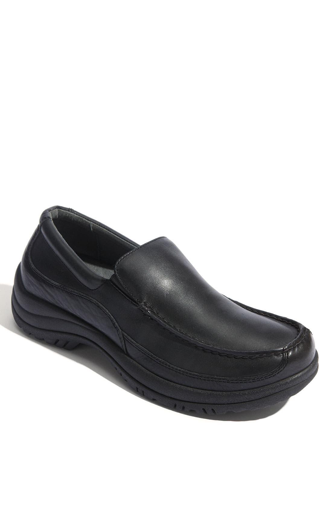 'Wayne' Slip-On,                         Main,                         color, BLACK