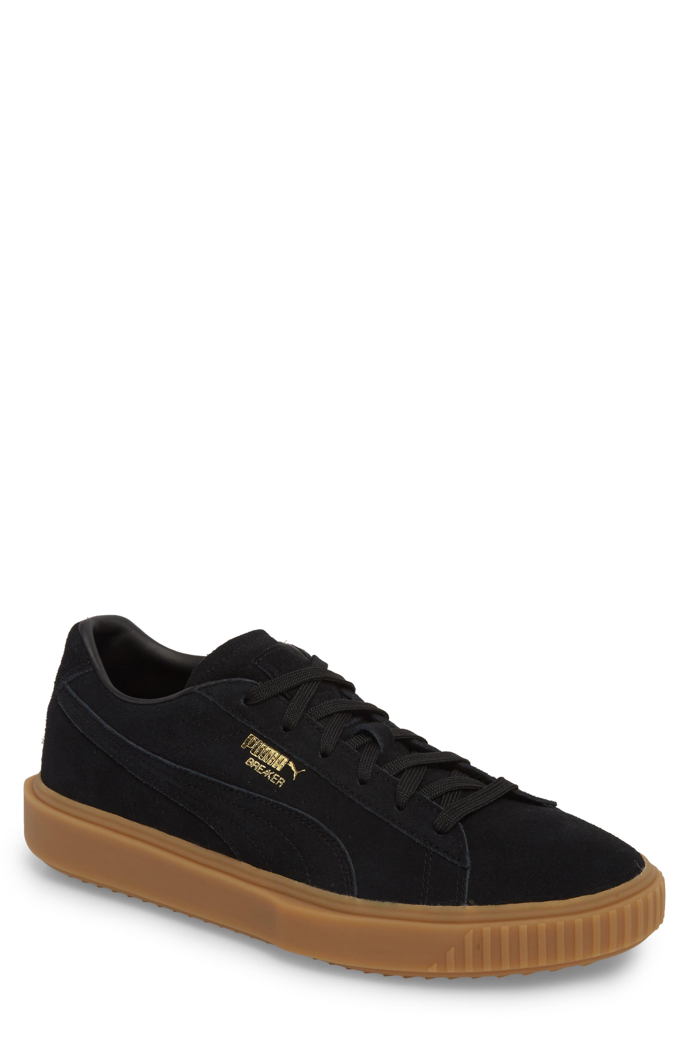 Breaker Suede Gum Low Top Sneaker,                             Main thumbnail 1, color,
