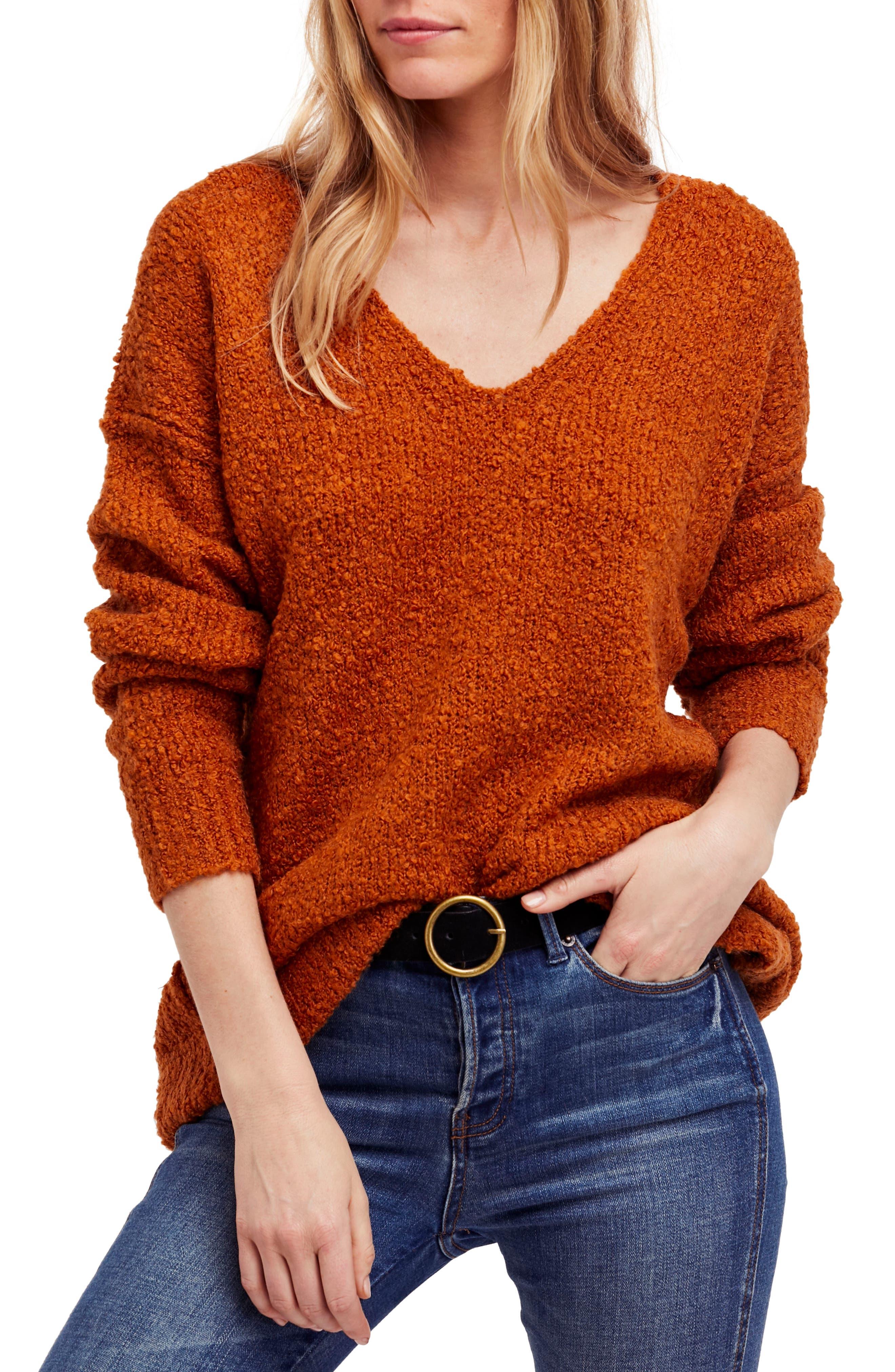 Lofty V-Neck Sweater,                             Main thumbnail 5, color,