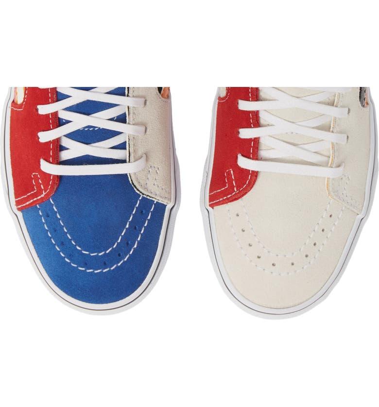 cbc00d3a9b4 Vans Sk8-Hi Patchwork High Top Sneaker (Women)