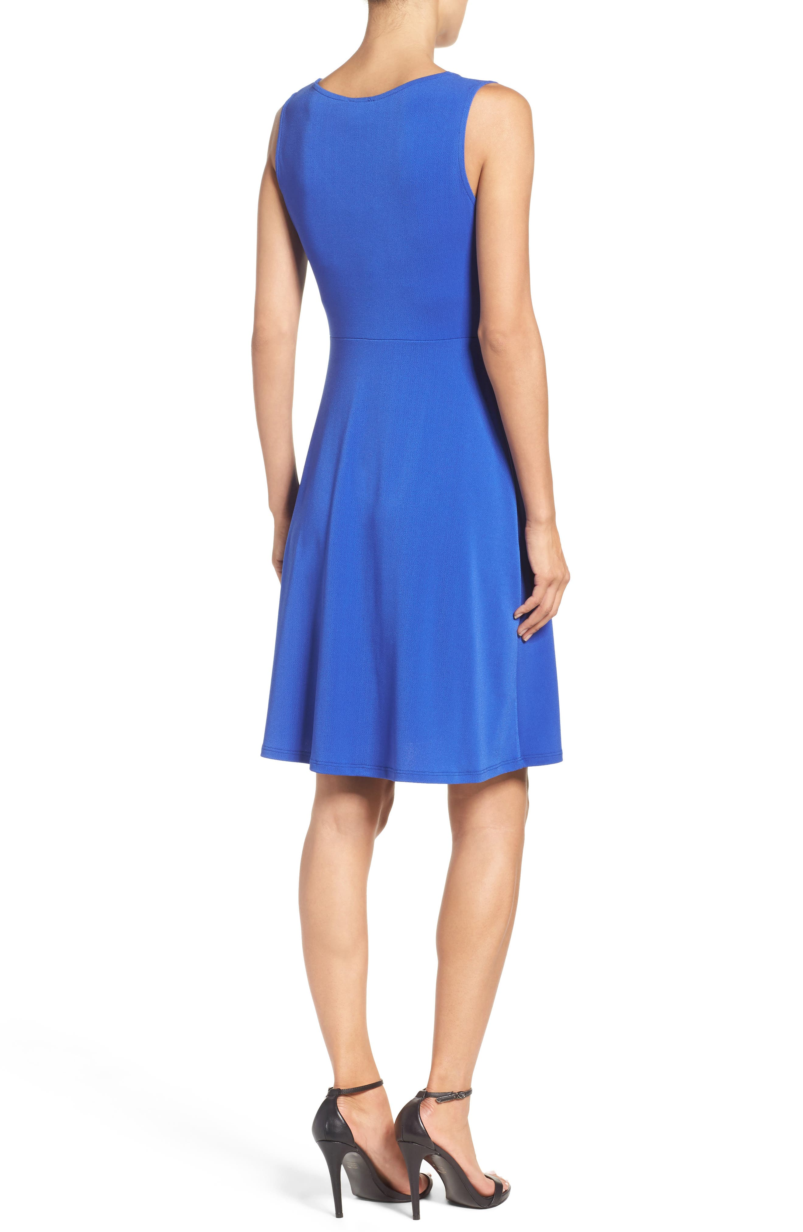 Twist Front Jersey Sheath Dress,                             Alternate thumbnail 2, color,                             430