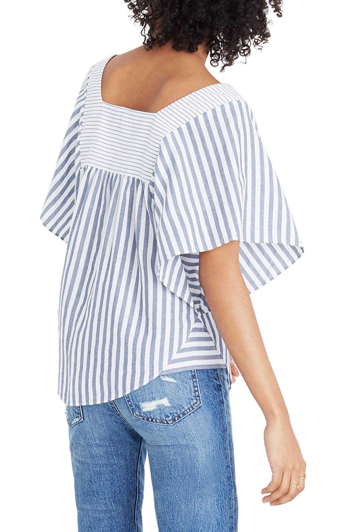 Stripe Butterfly Top,                             Alternate thumbnail 2, color,                             400