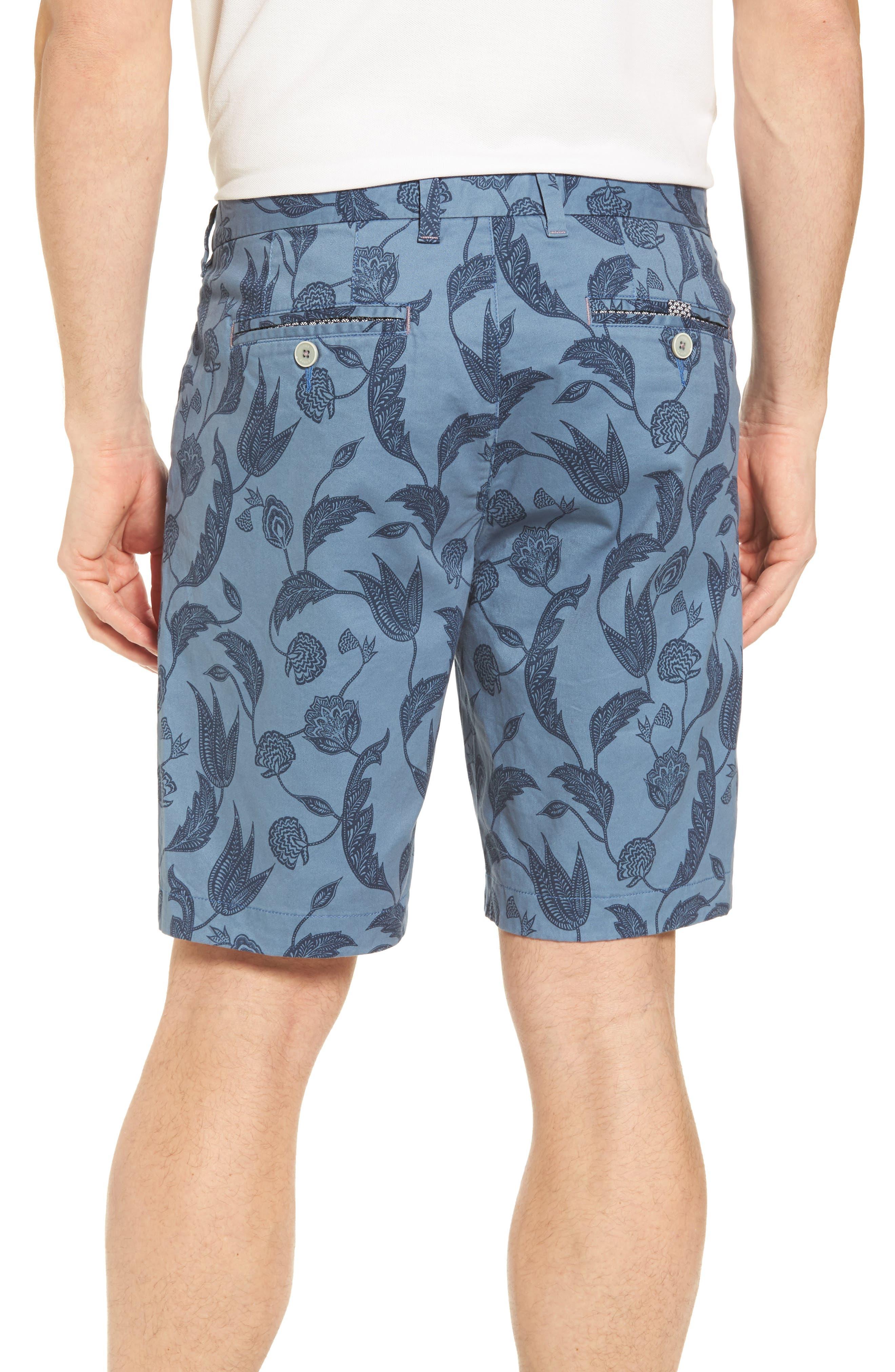 Uniprin Trim Fit Floral Golf Shorts,                             Alternate thumbnail 2, color,                             430