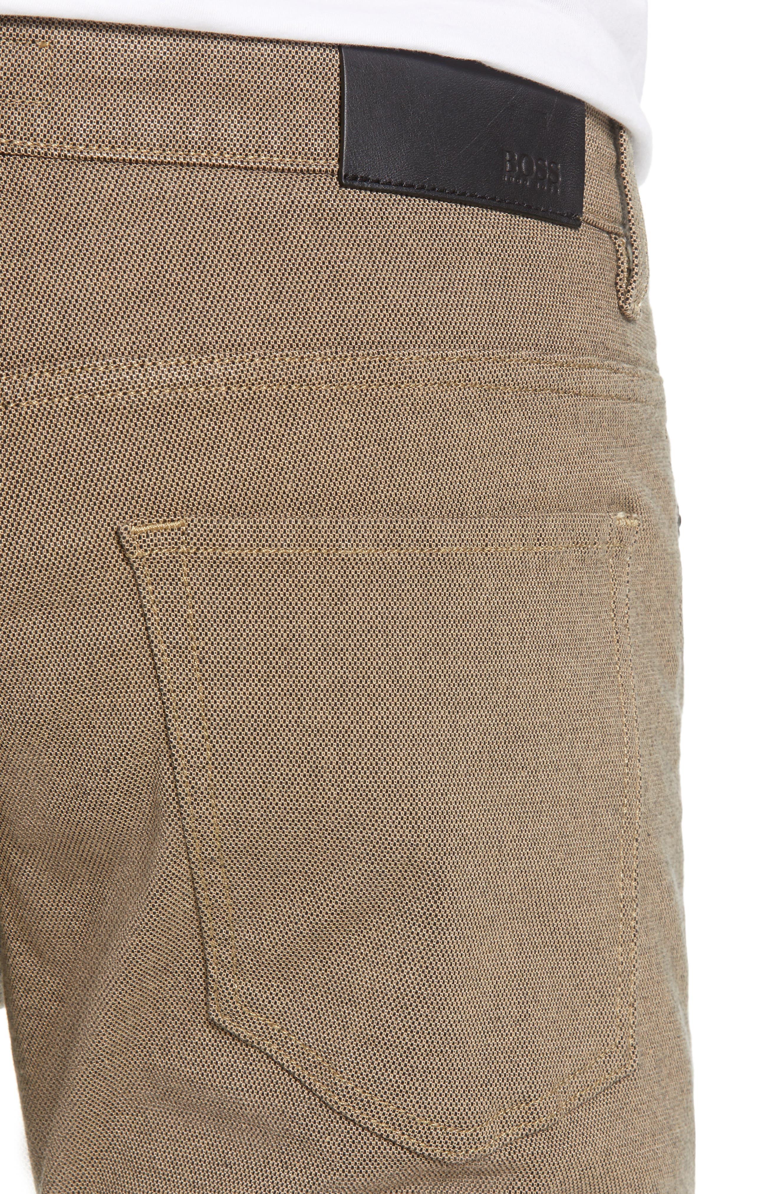 Delaware Slim Fit Pants,                             Alternate thumbnail 4, color,                             TAN