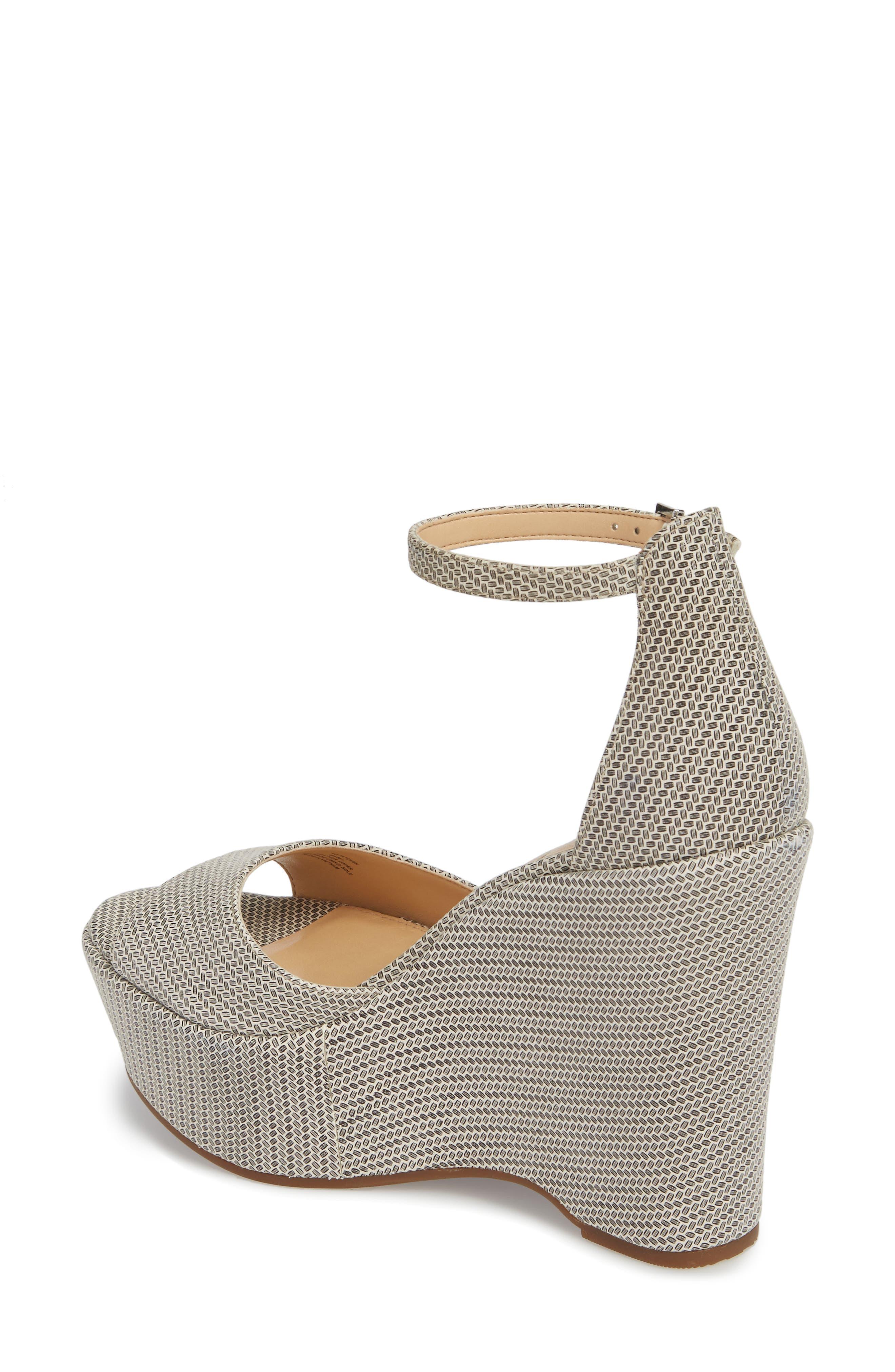 Tatchen Ankle Strap Platform Sandal,                             Alternate thumbnail 2, color,                             002