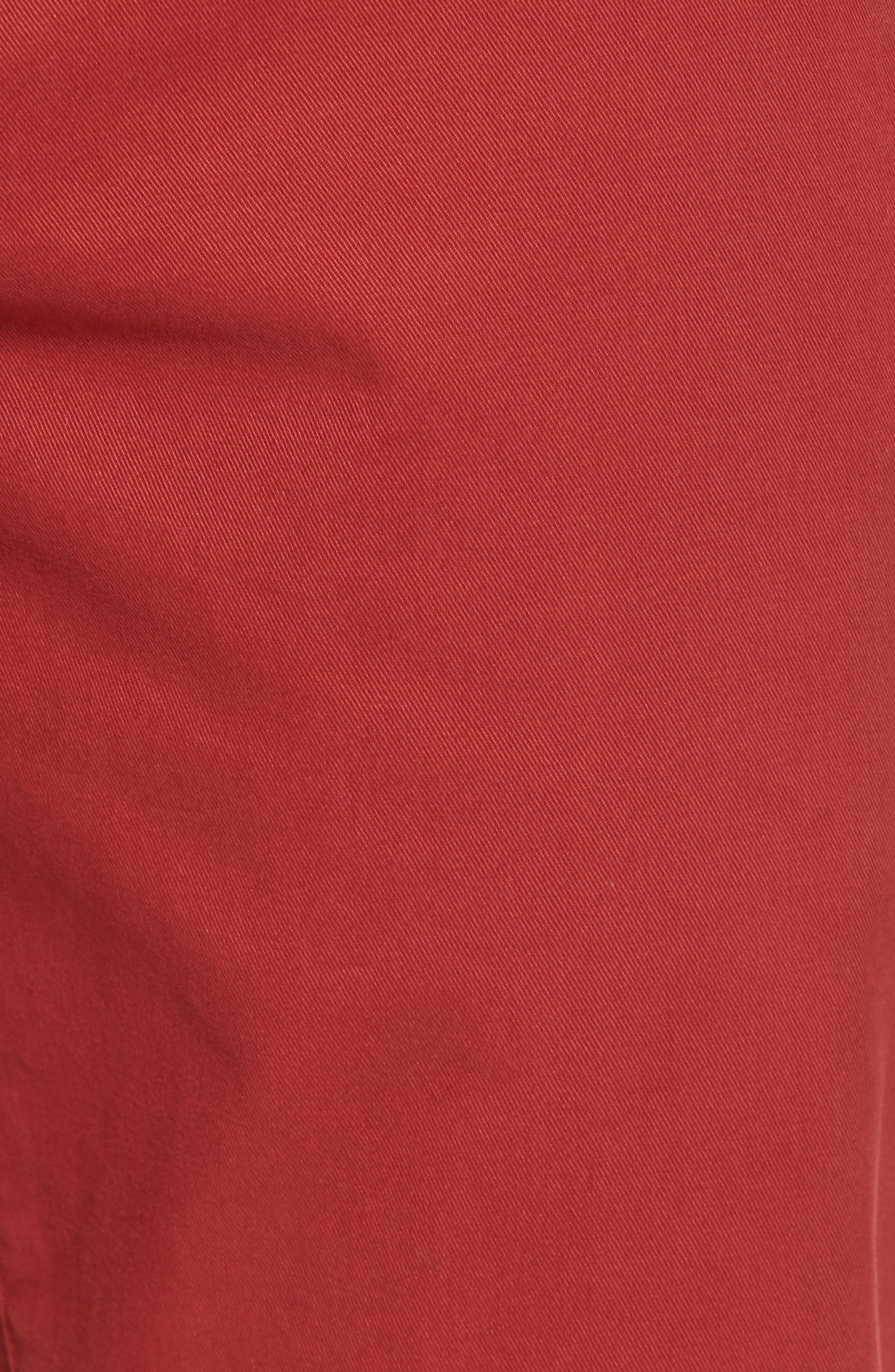 Tailored Fit Washed Stretch Cotton Chinos,                             Alternate thumbnail 175, color,