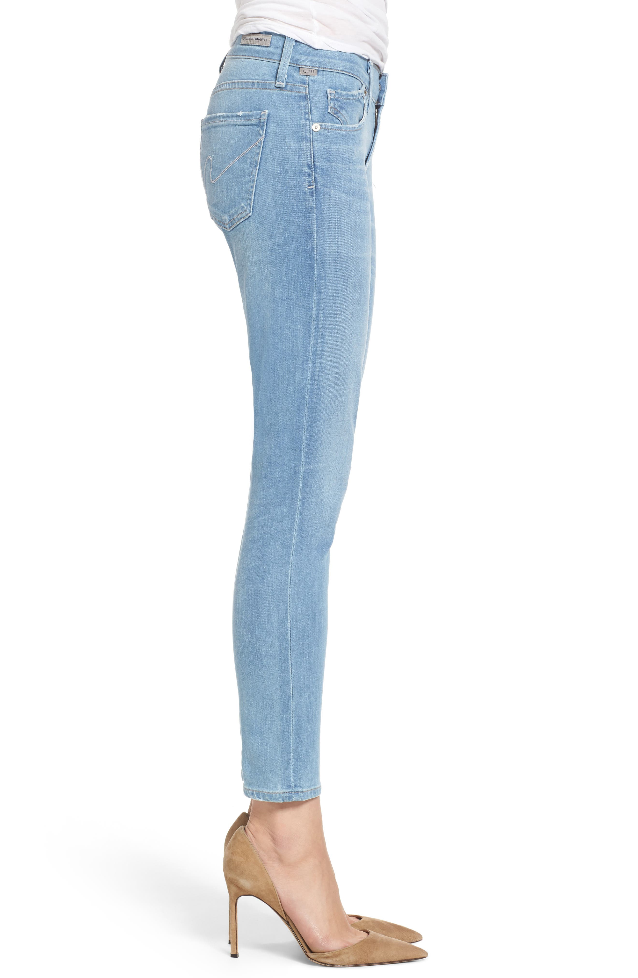 Avedon Ultra Skinny Jeans,                             Alternate thumbnail 3, color,                             455