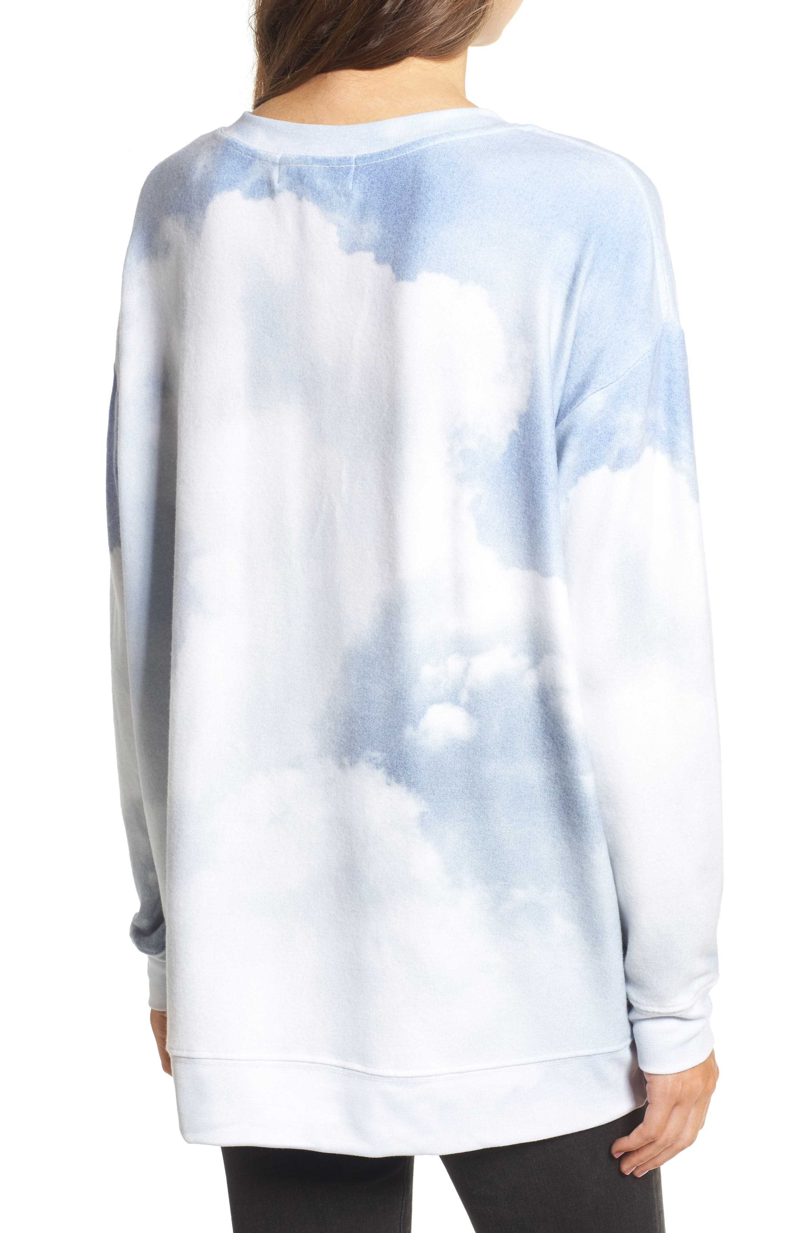 Heavens Roadtrip Sweatshirt,                             Alternate thumbnail 2, color,                             660