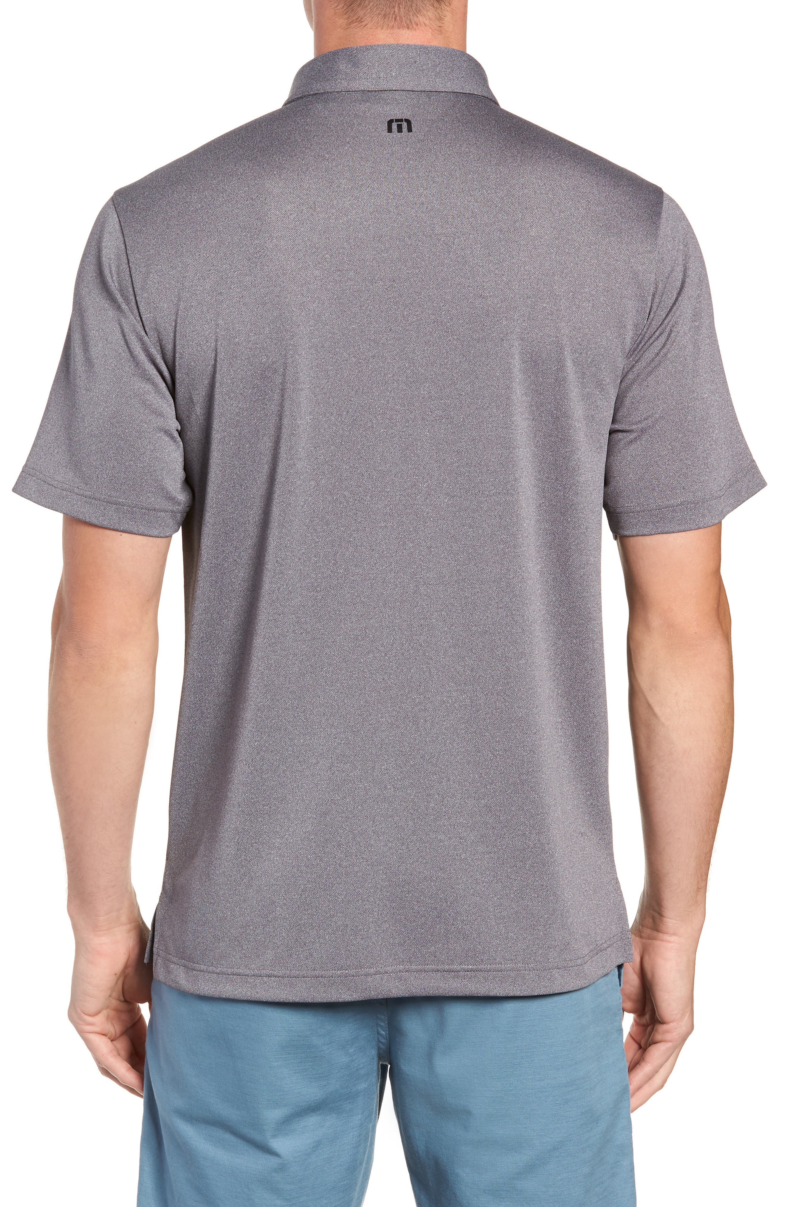 Big Six Regular Fit Polo,                             Alternate thumbnail 2, color,                             HEATHER GREY