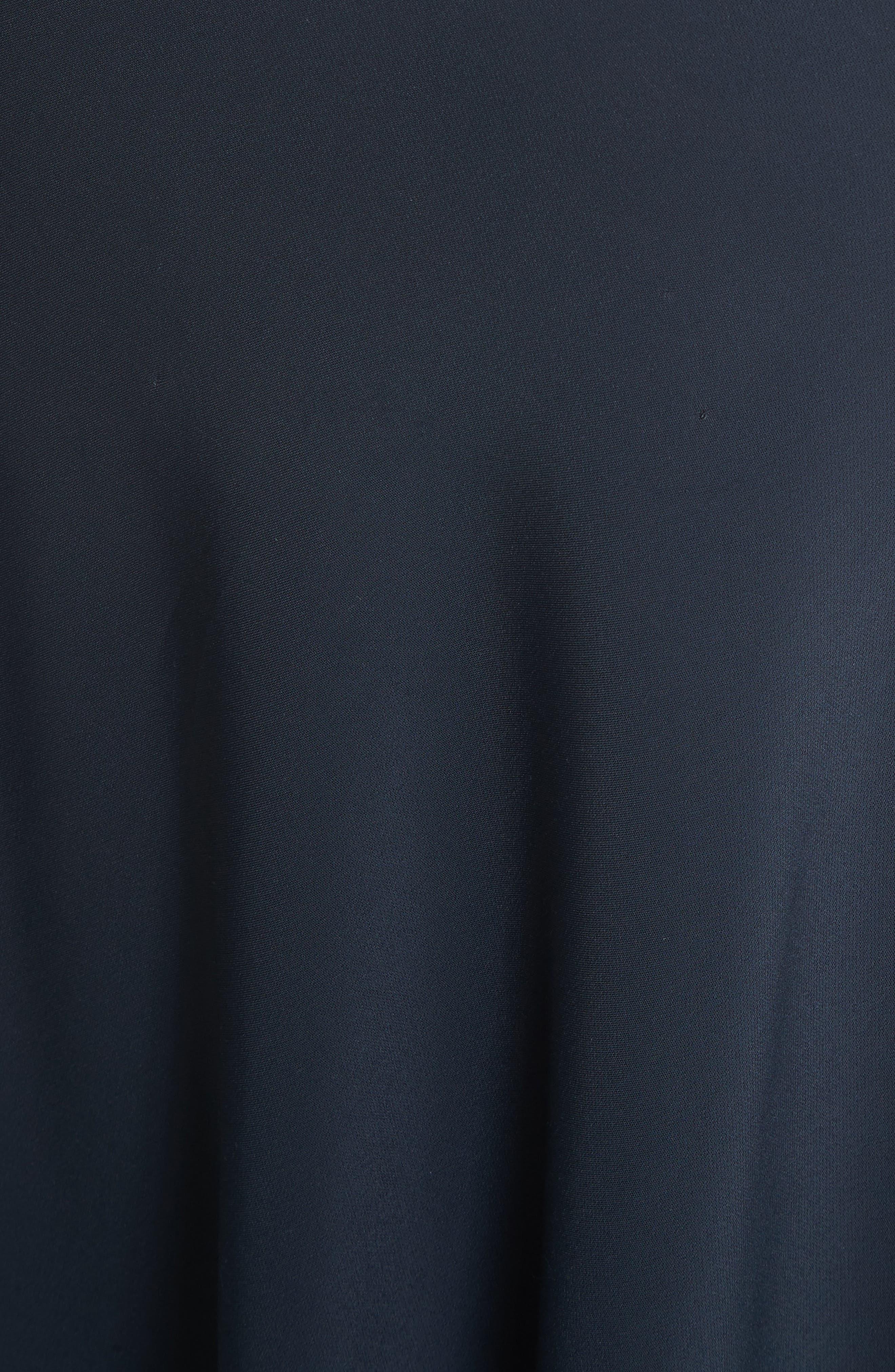 Elastic Waist Slip Skirt,                             Alternate thumbnail 5, color,                             403