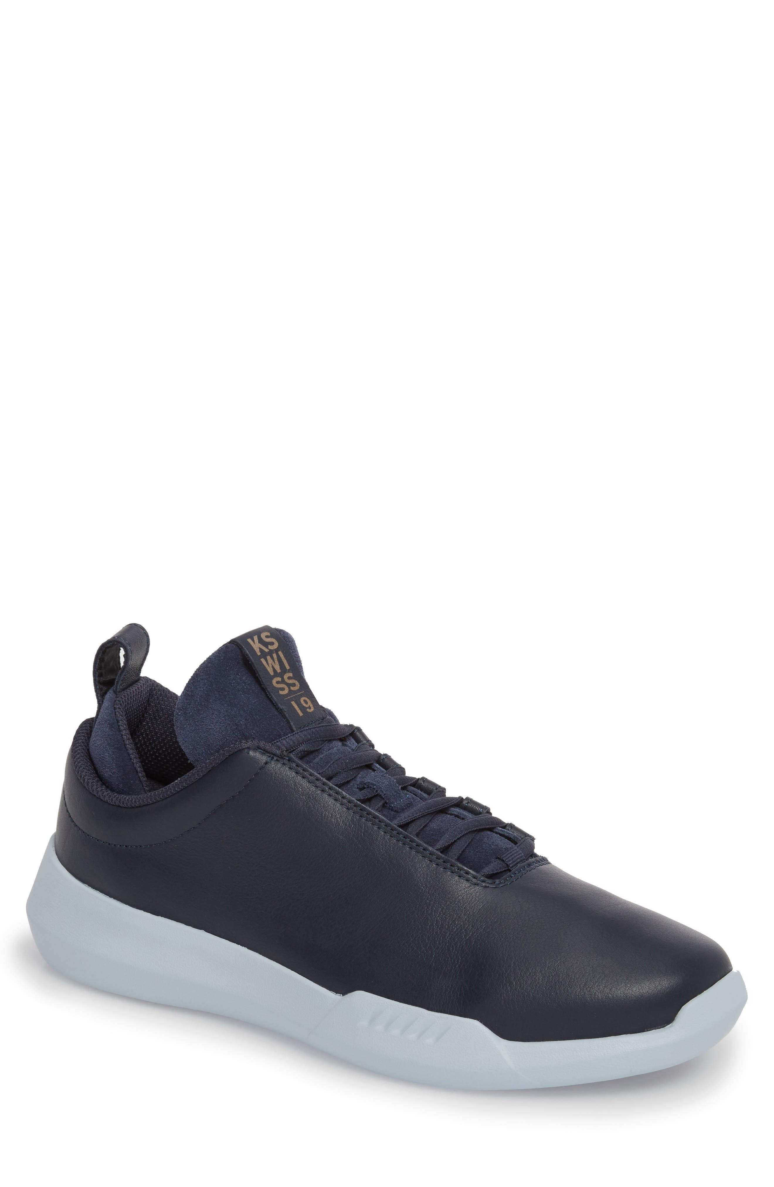 Gen-K Icon Sneaker,                             Main thumbnail 1, color,                             NAVY/CELESTIAL BLUE