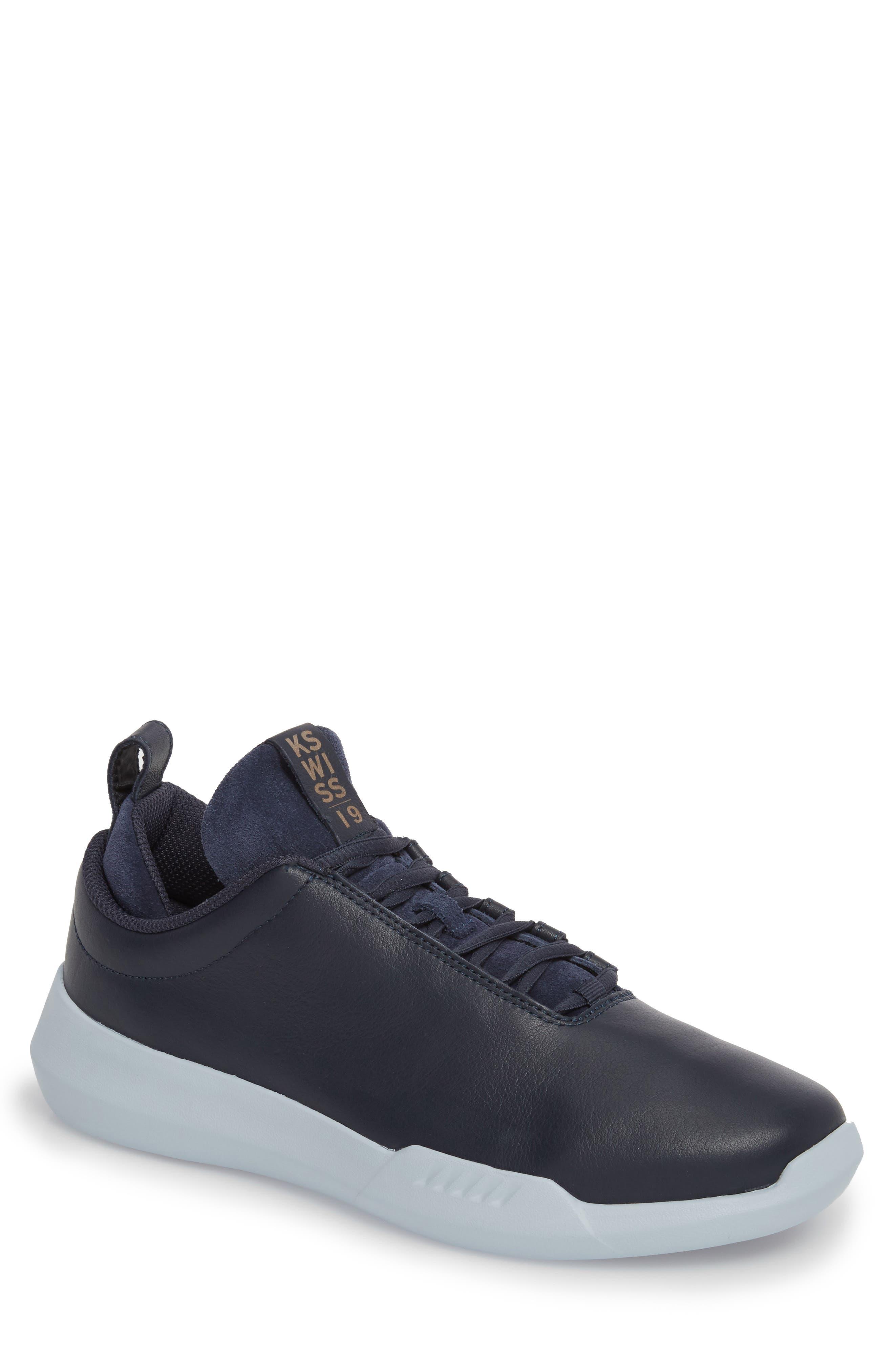 Gen-K Icon Sneaker,                         Main,                         color, NAVY/CELESTIAL BLUE